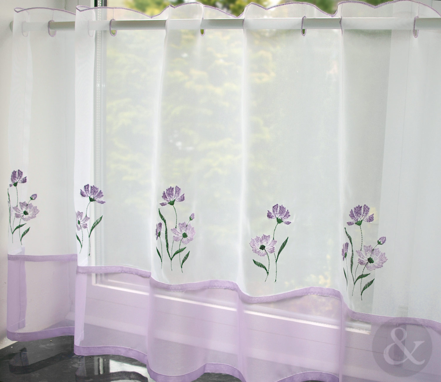 Kitchen Nets Ready Made Voile Curtain