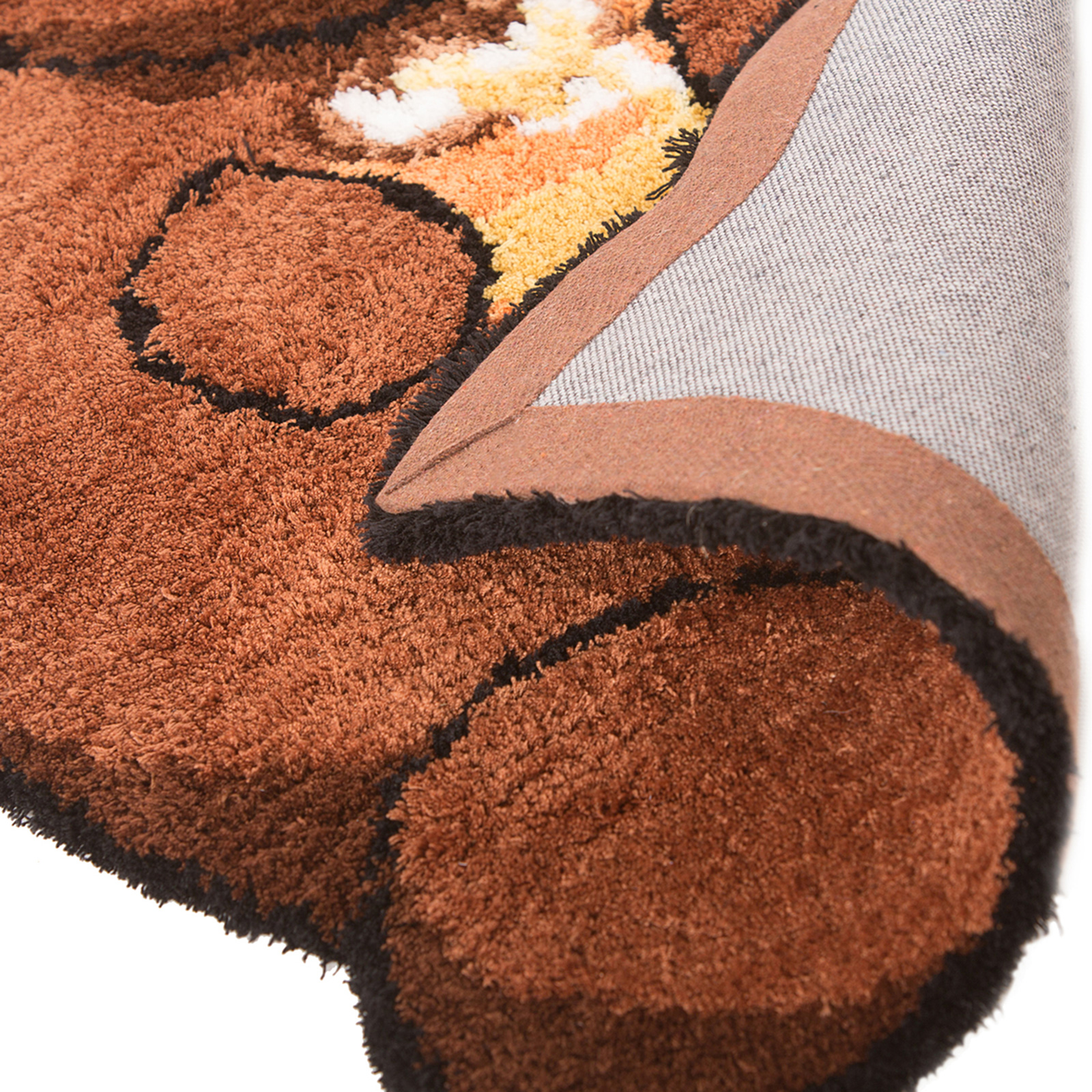 Childrens Cute & Soft Plush Animal Nursery Rug