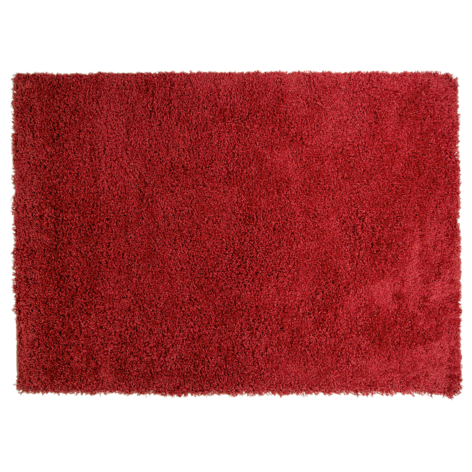 Warm Rugs Of Plain Shaggy Carpet Rug With 5cm Deep Pile Soft Warm