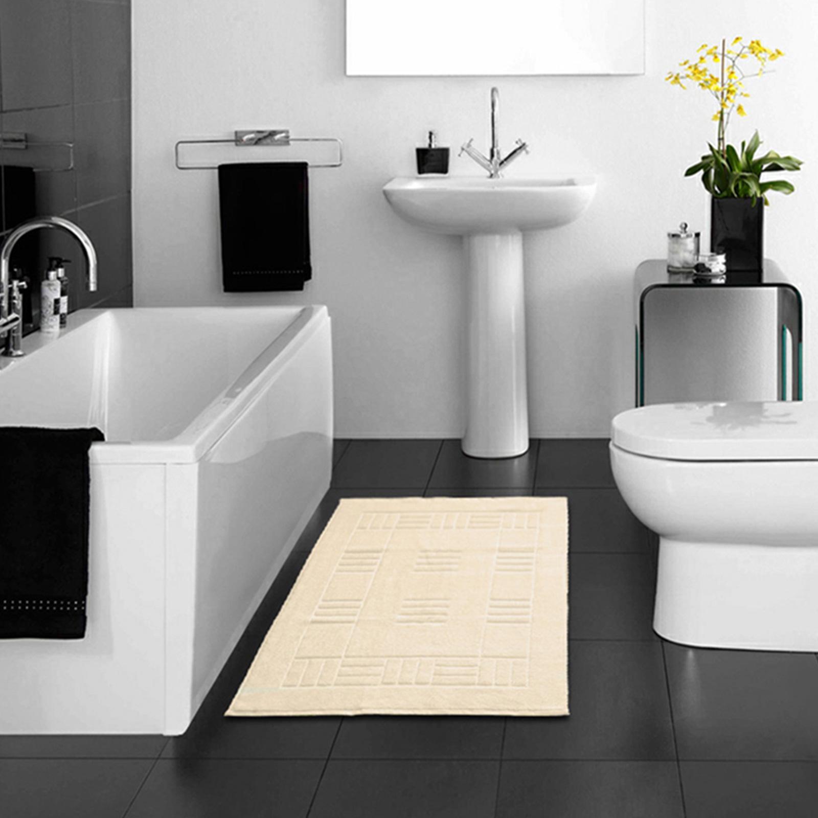 100 Egyptian Cotton Bathroom Mats Rugs Super Soft