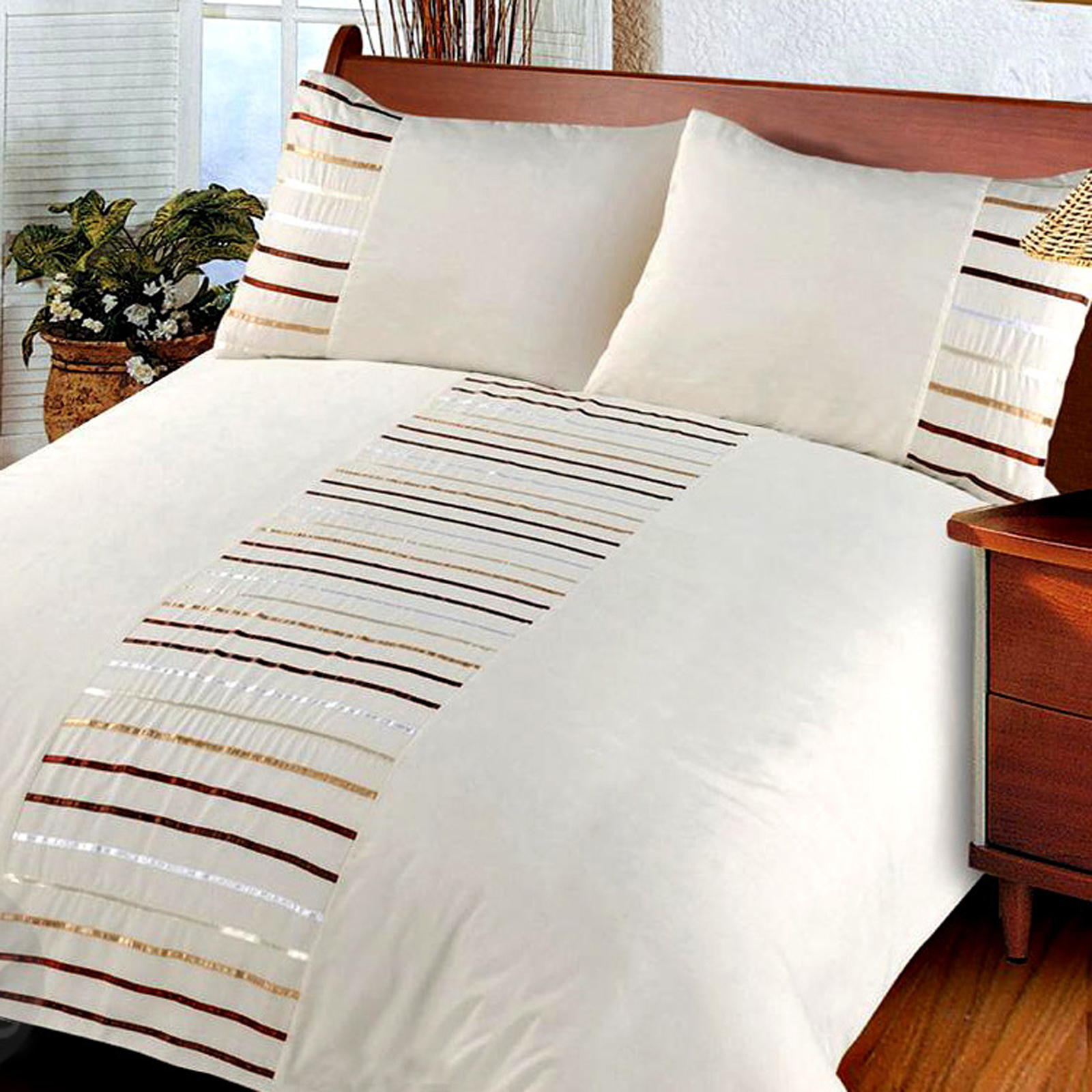 modern striped duvet cover set bedding quilt cover. Black Bedroom Furniture Sets. Home Design Ideas