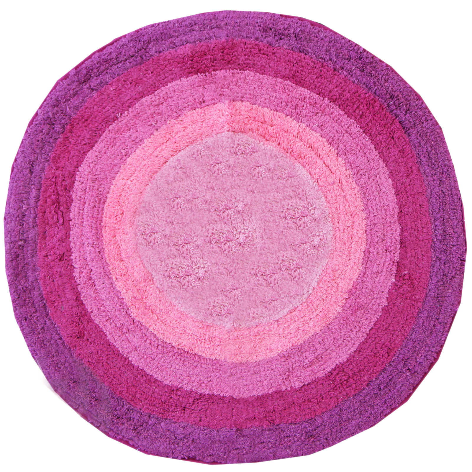 100 Cotton Round Bath Mats Bathroom Washable Mat
