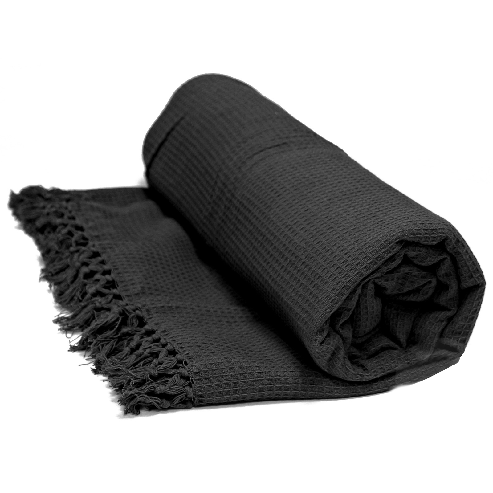 Honeycomb 100 Cotton Throws Extra Large Luxury Thermal  : rp honeycomb black main from www.ebay.co.uk size 1600 x 1600 jpeg 551kB