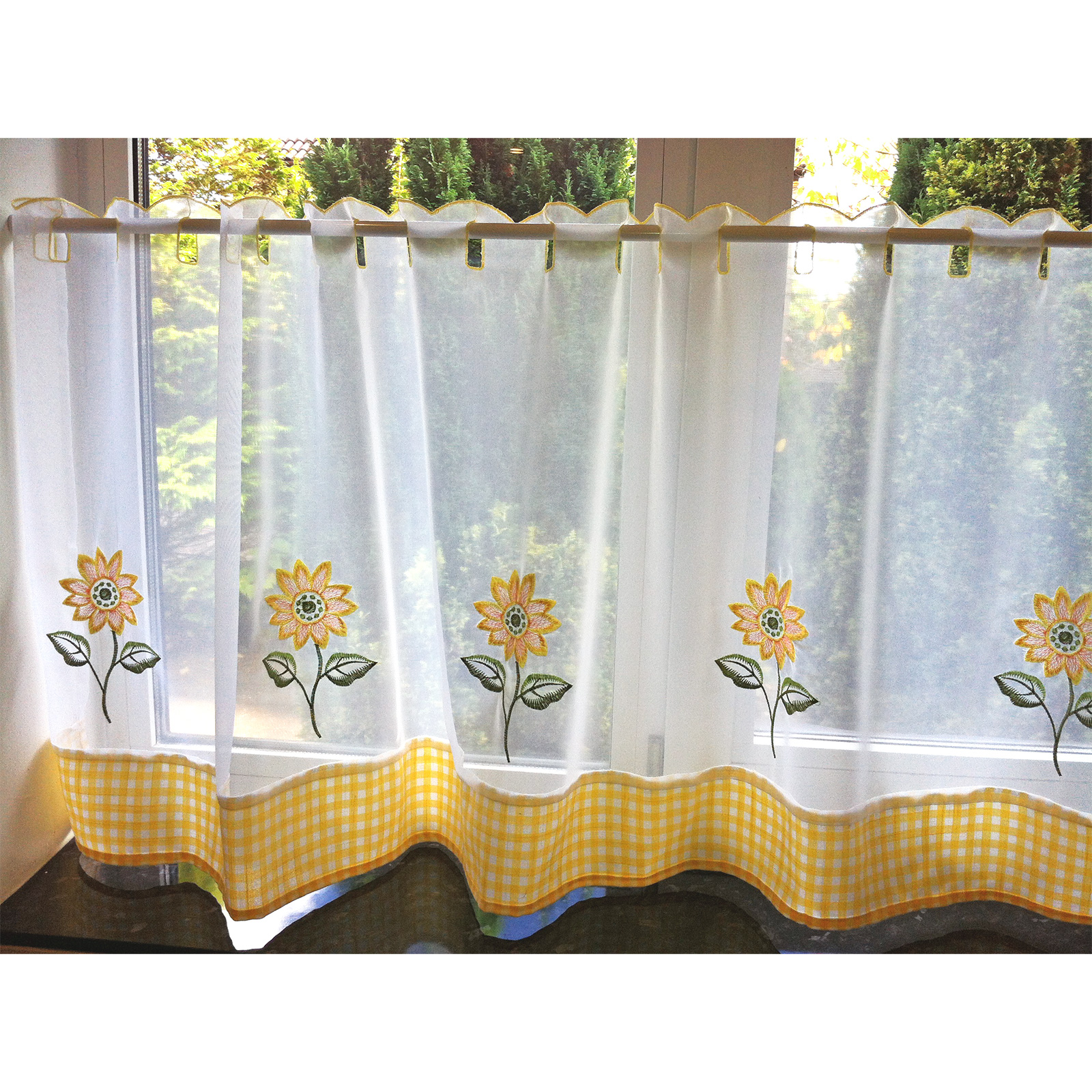 Café Net Curtains Kitchen Nets Ready Made Voile Curtain