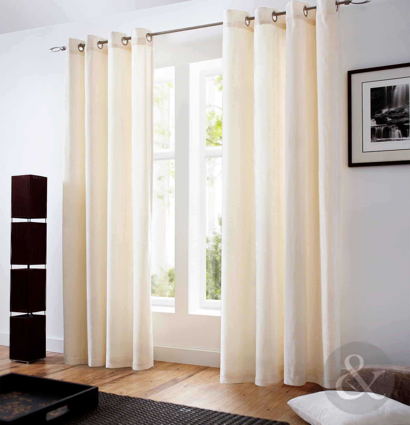 majestic velvet curtains modern ready made fully lined. Black Bedroom Furniture Sets. Home Design Ideas