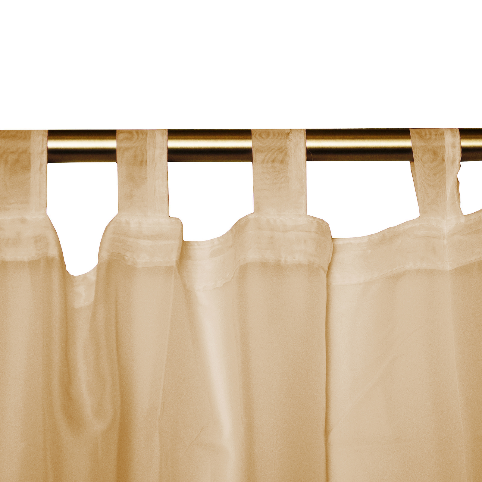 Hidden Tab Curtains Plain Tab Top Voile Panel Net Voile Net Curtain With Tie Back