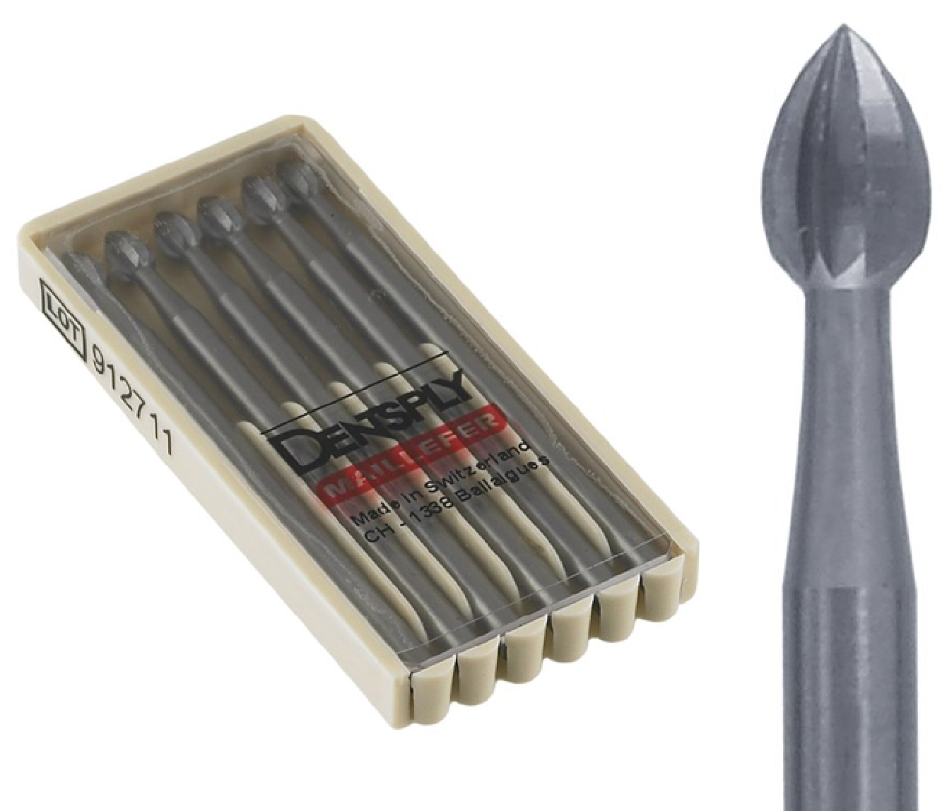 Dentsply Maillefer 6 Pieces Bud Burs 0.8mm 008 Swiss Made Fig 6 Dentsply Maillefer Jewelry Dental at Sears.com