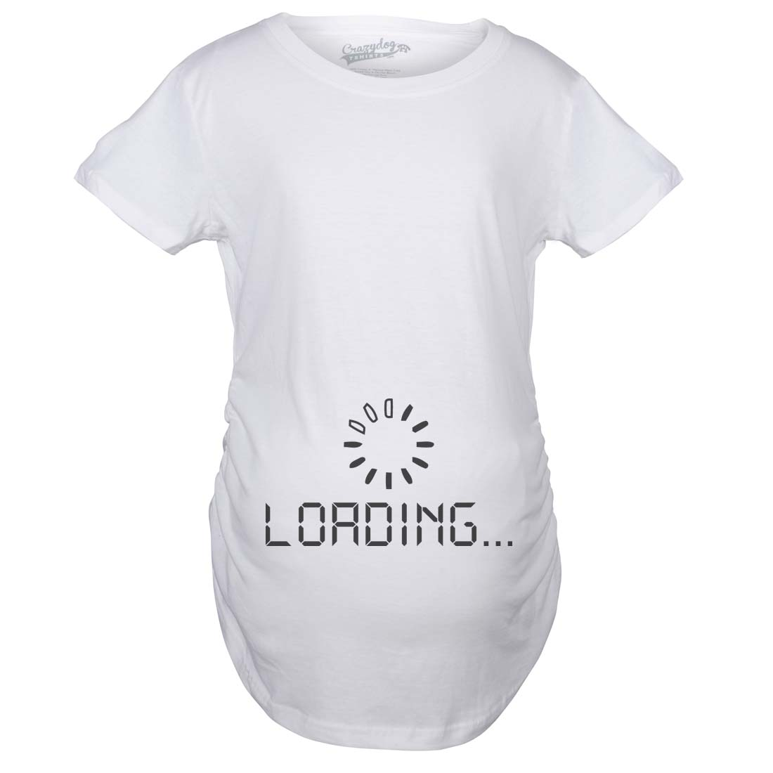 Maternity Baby Loading Shirt Humor Funny Pregnancy Shirts ...