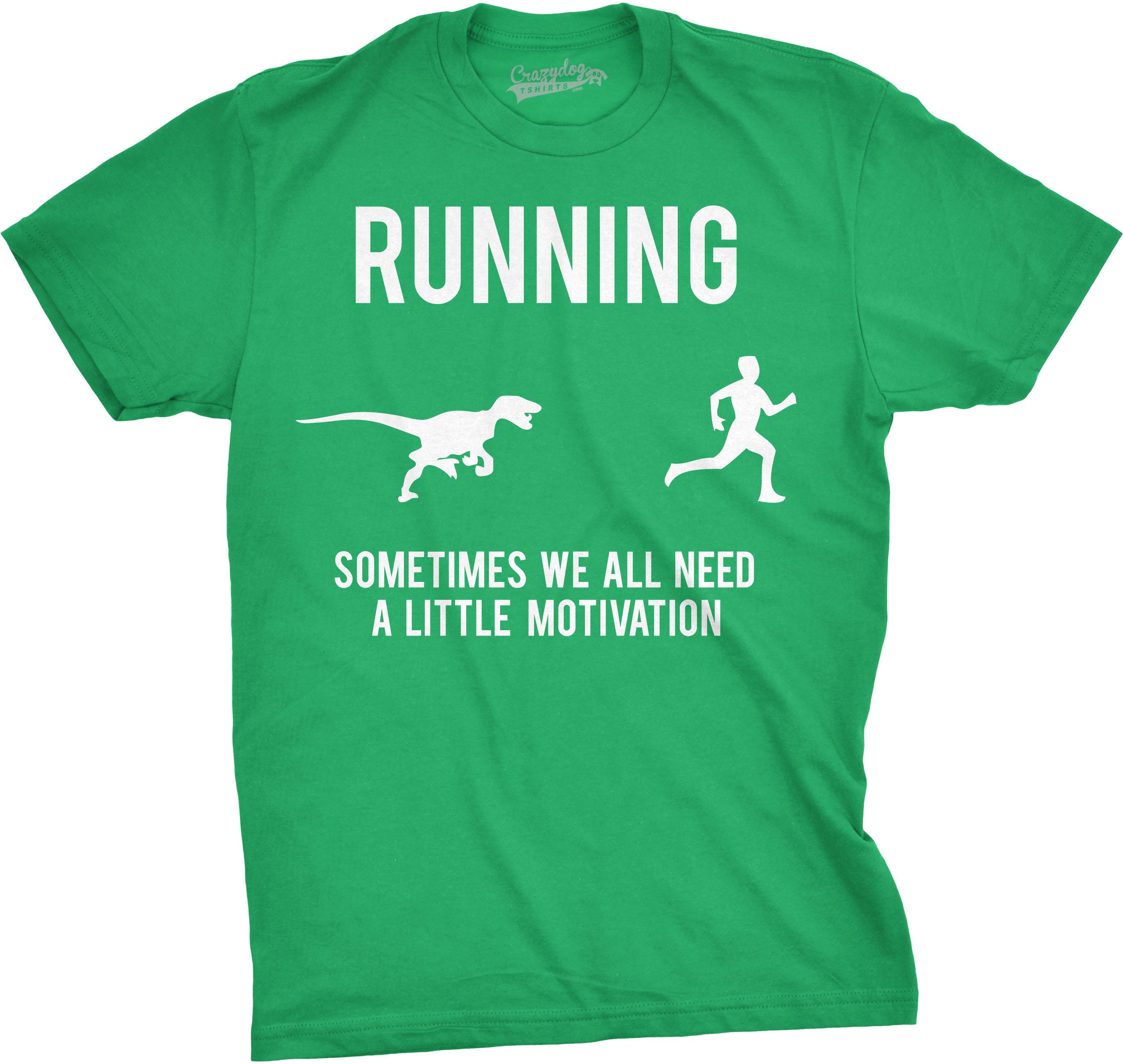 mens running motivation t shirt funny running t shirts sarcasm humor run novelty ebay. Black Bedroom Furniture Sets. Home Design Ideas