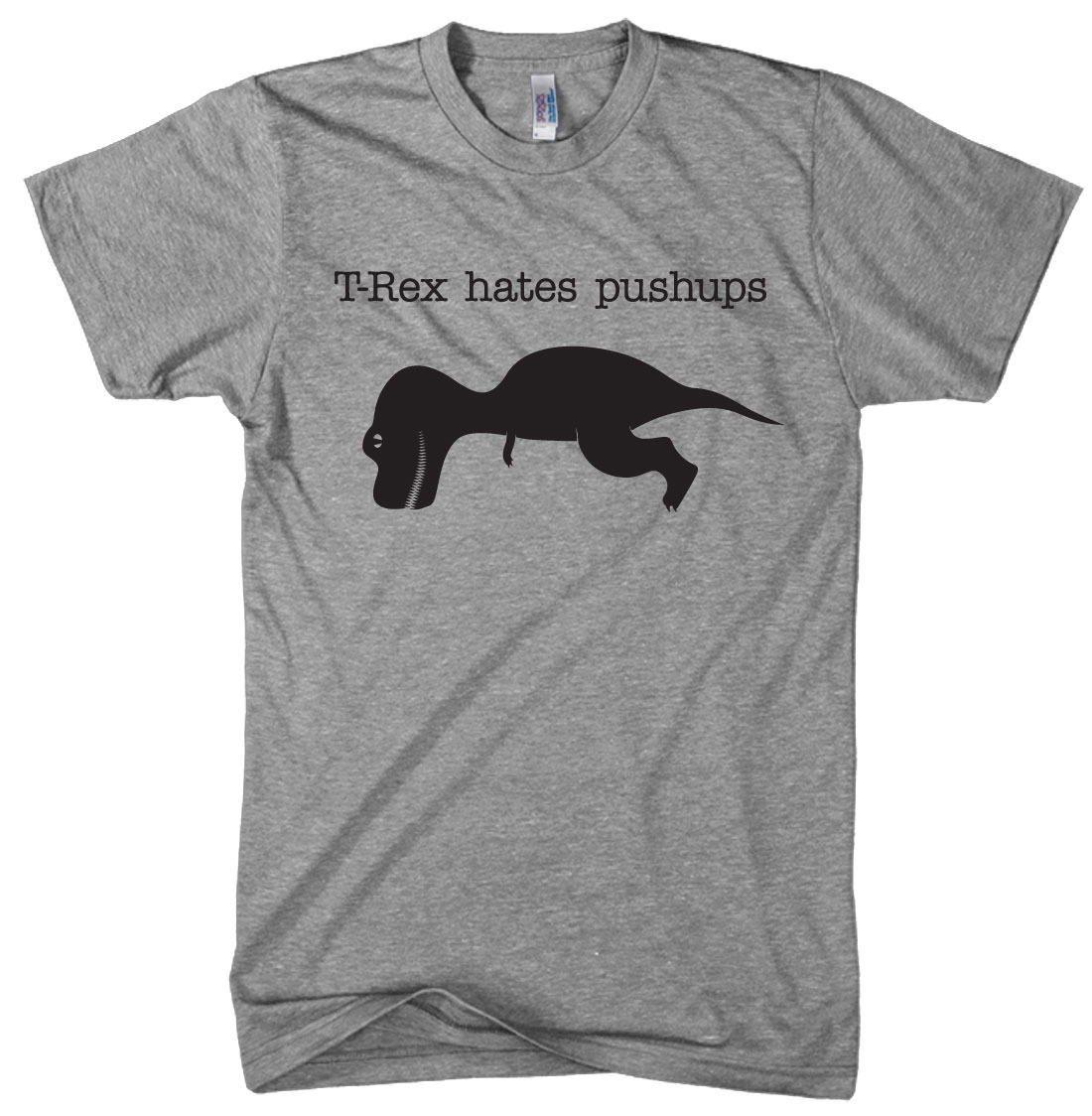 Crazy Dog Tshirts T-Rex Hates Pushups t shirt funny shirt dinosaur t shirt at Sears.com