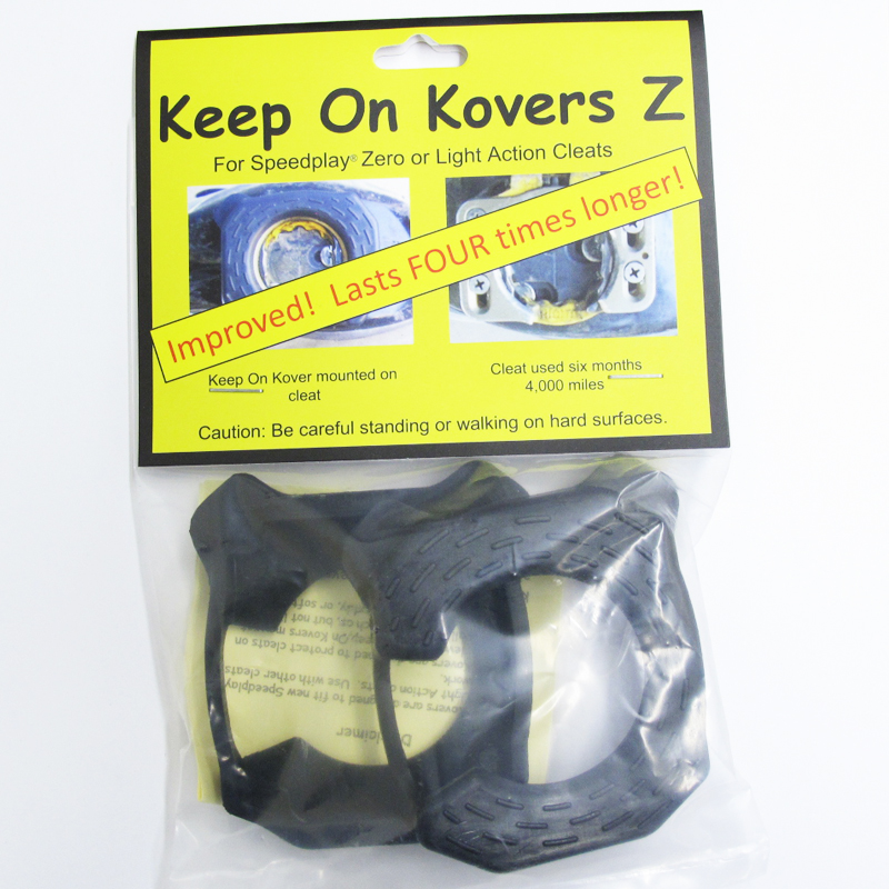 Keep on Kovers Z for Speedplay Zero or Light Action Cleats Cover ...
