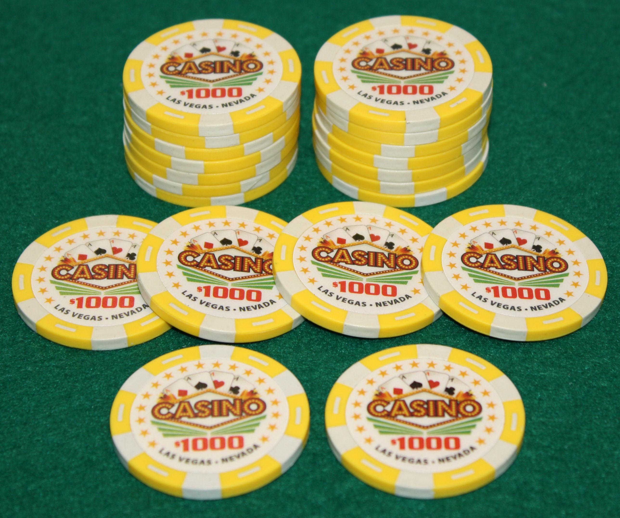 casino quality poker chips