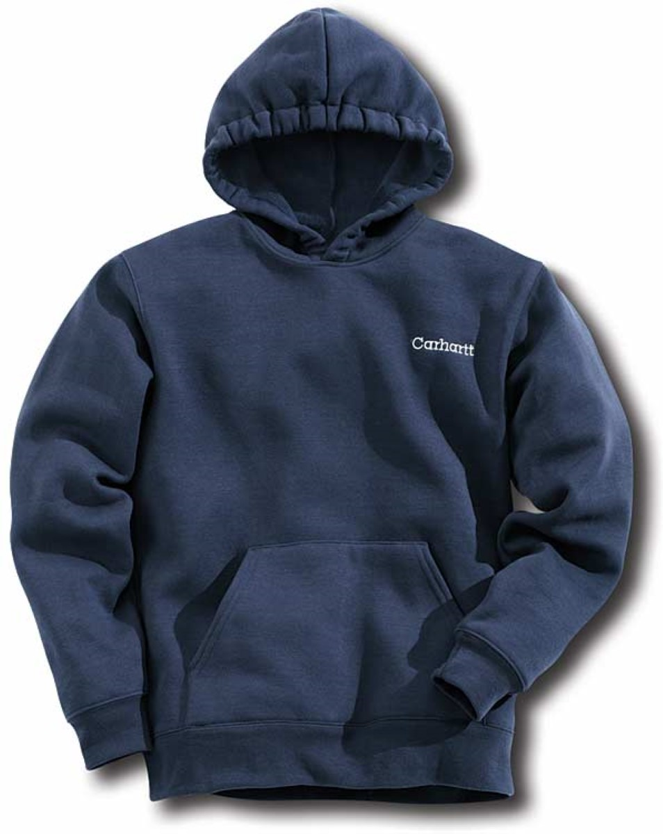 carhartt boy 39 s midweight hooded pullover sweatshirt jcs yyk121 ebay. Black Bedroom Furniture Sets. Home Design Ideas
