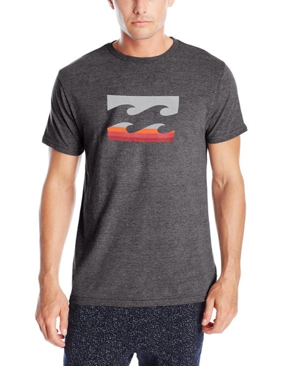 Billabong Mens Team Wave T Shirt M401ftea Ebay