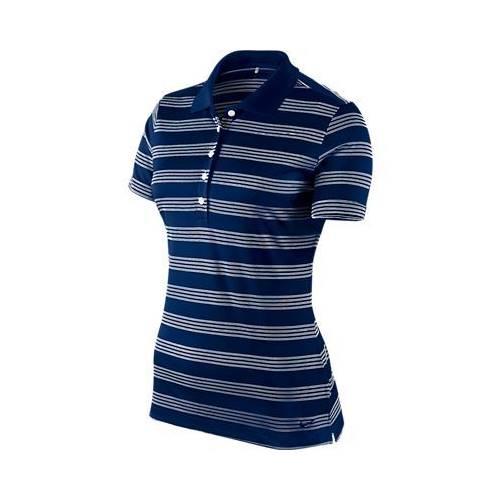 Nike Women's Tech Stripe Polo Shirt