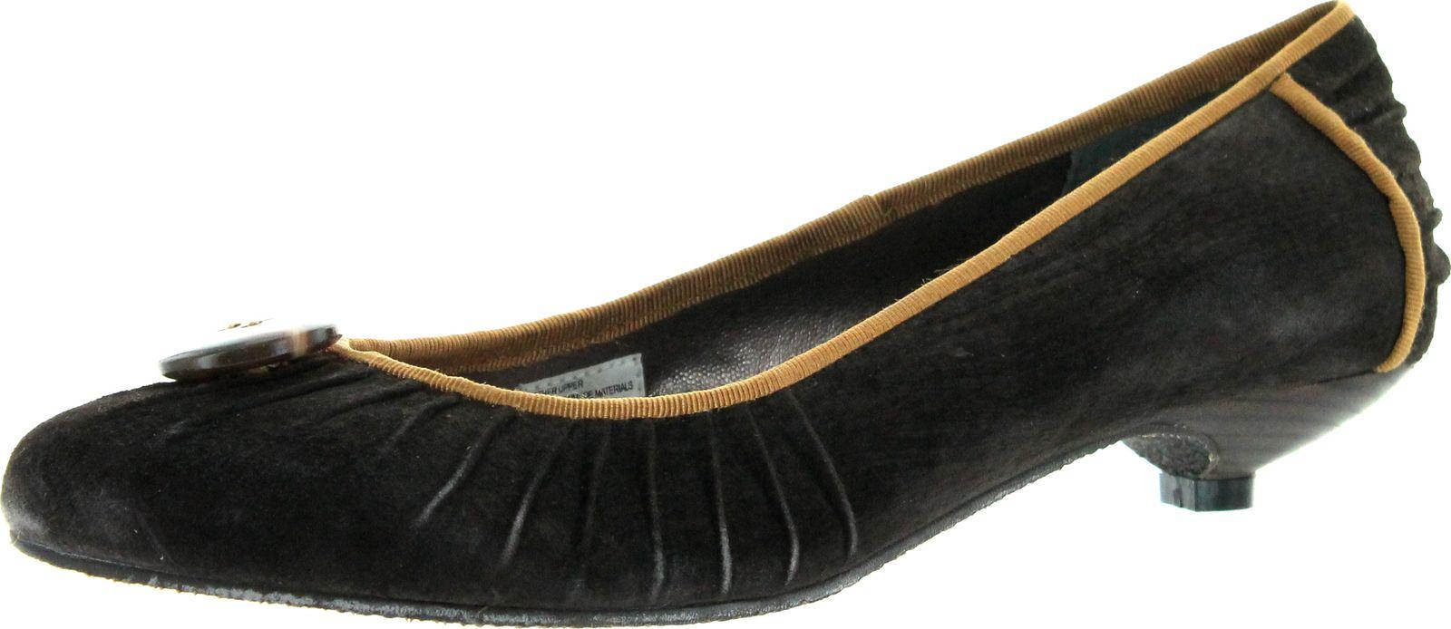 Volatile Womens Victoria Kitten Heel Pumps Shoes  eBay
