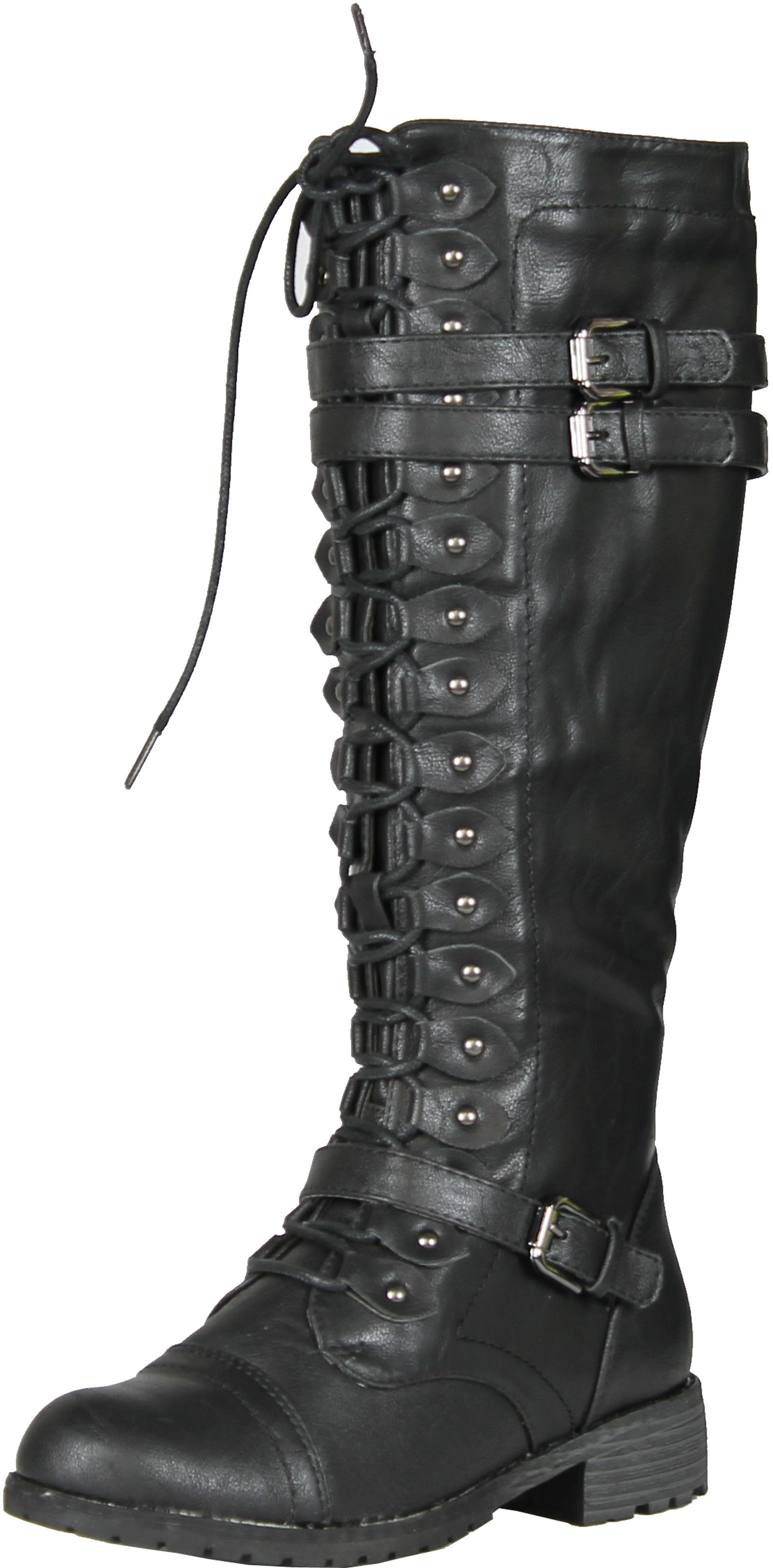 25 Cool Womens Knee High Combat Boots