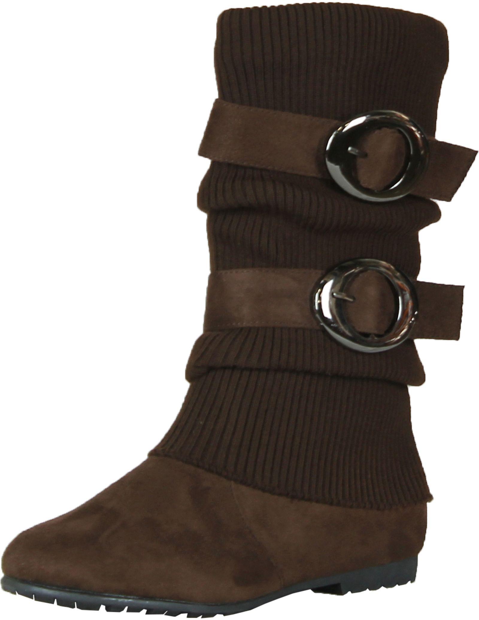 no60 s knitting shaft flat bottom boots ebay