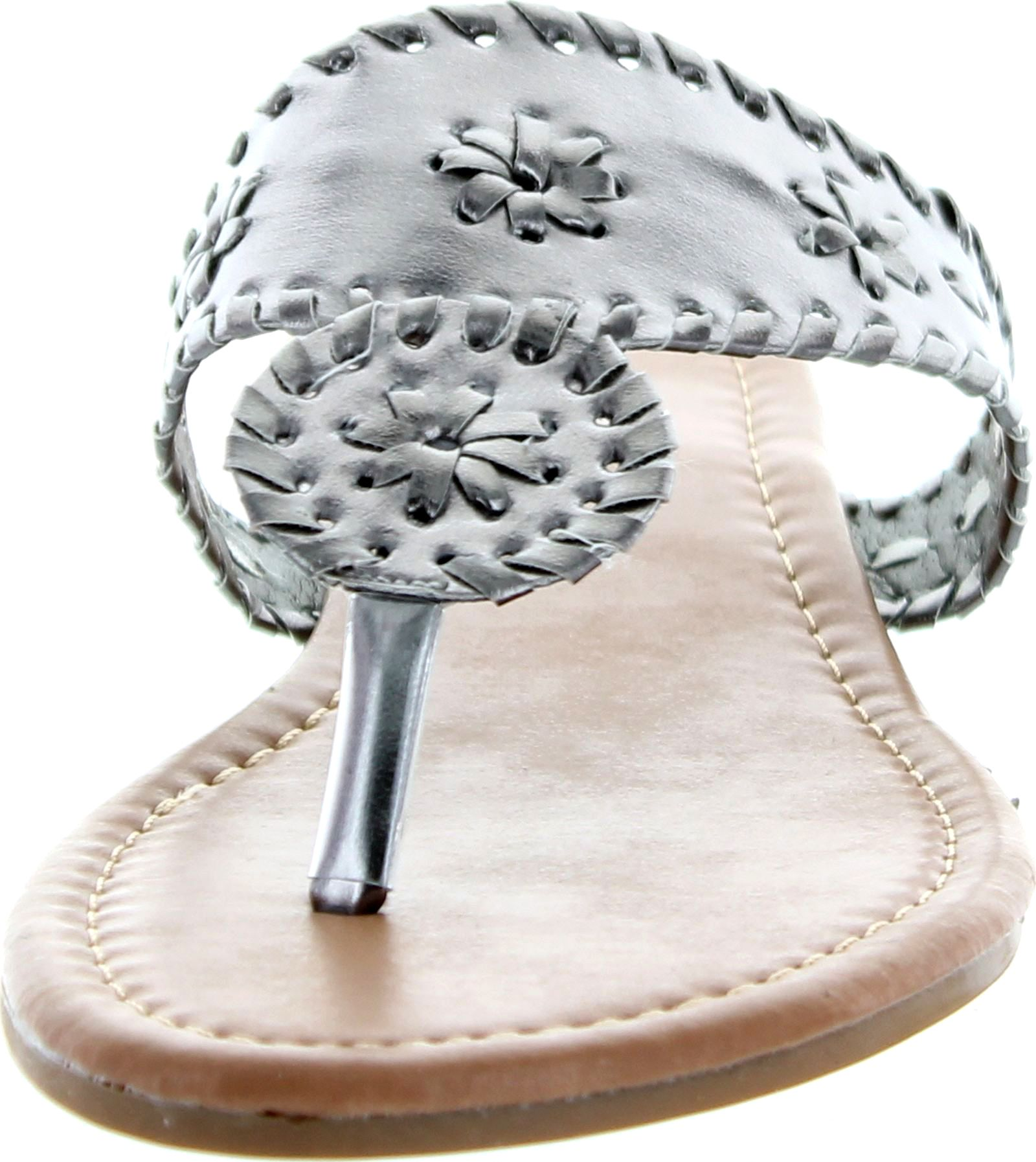 Pierre Dumas Womens Rosetta 1 Sandals