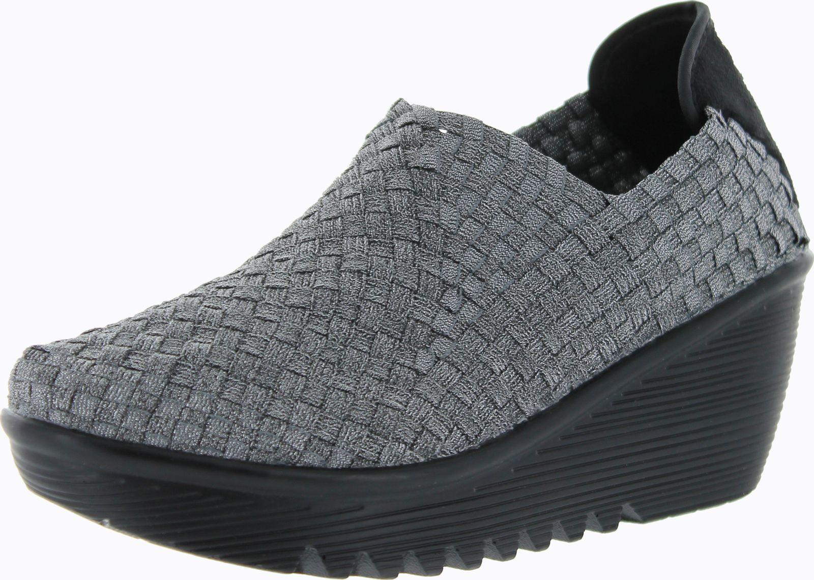 bernie mev womens gem casual wedge shoes ebay