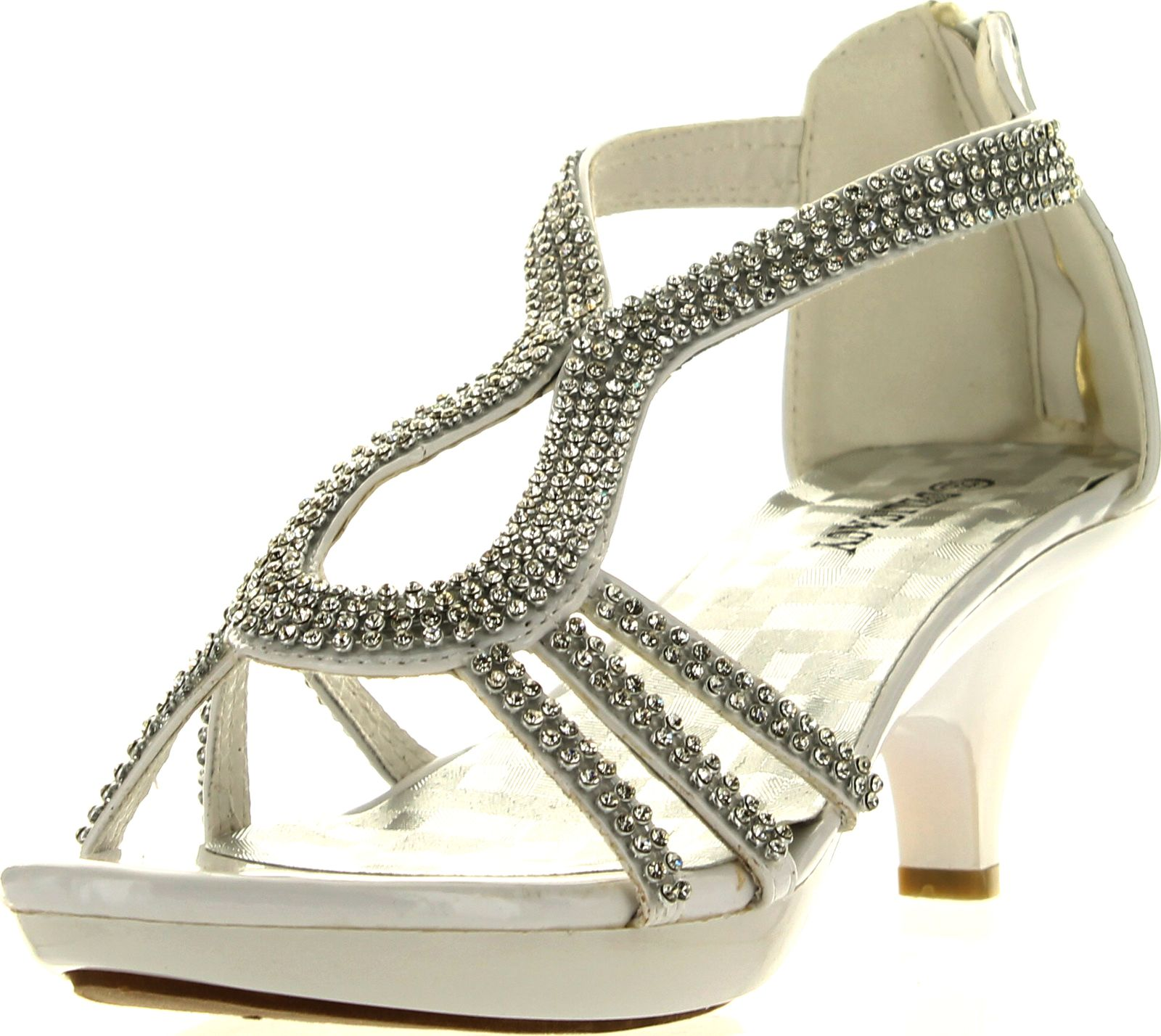 Delicacy Women Dress Sandals Rhinestone Platform Wedding