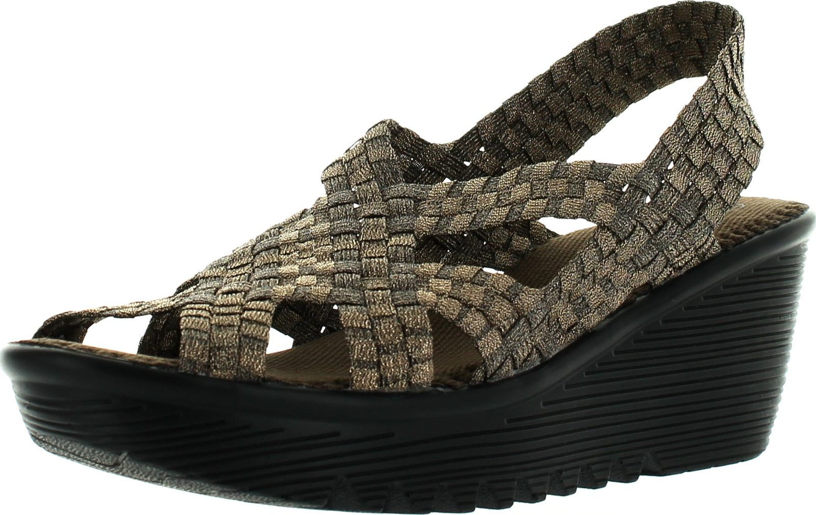 bernie mev womens contour wedge sandals ebay