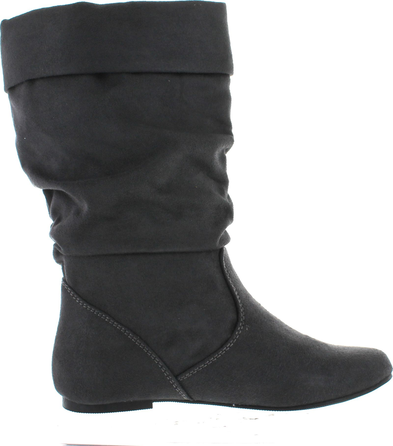 soda image s comfortable flat mid calf boot shoes ebay