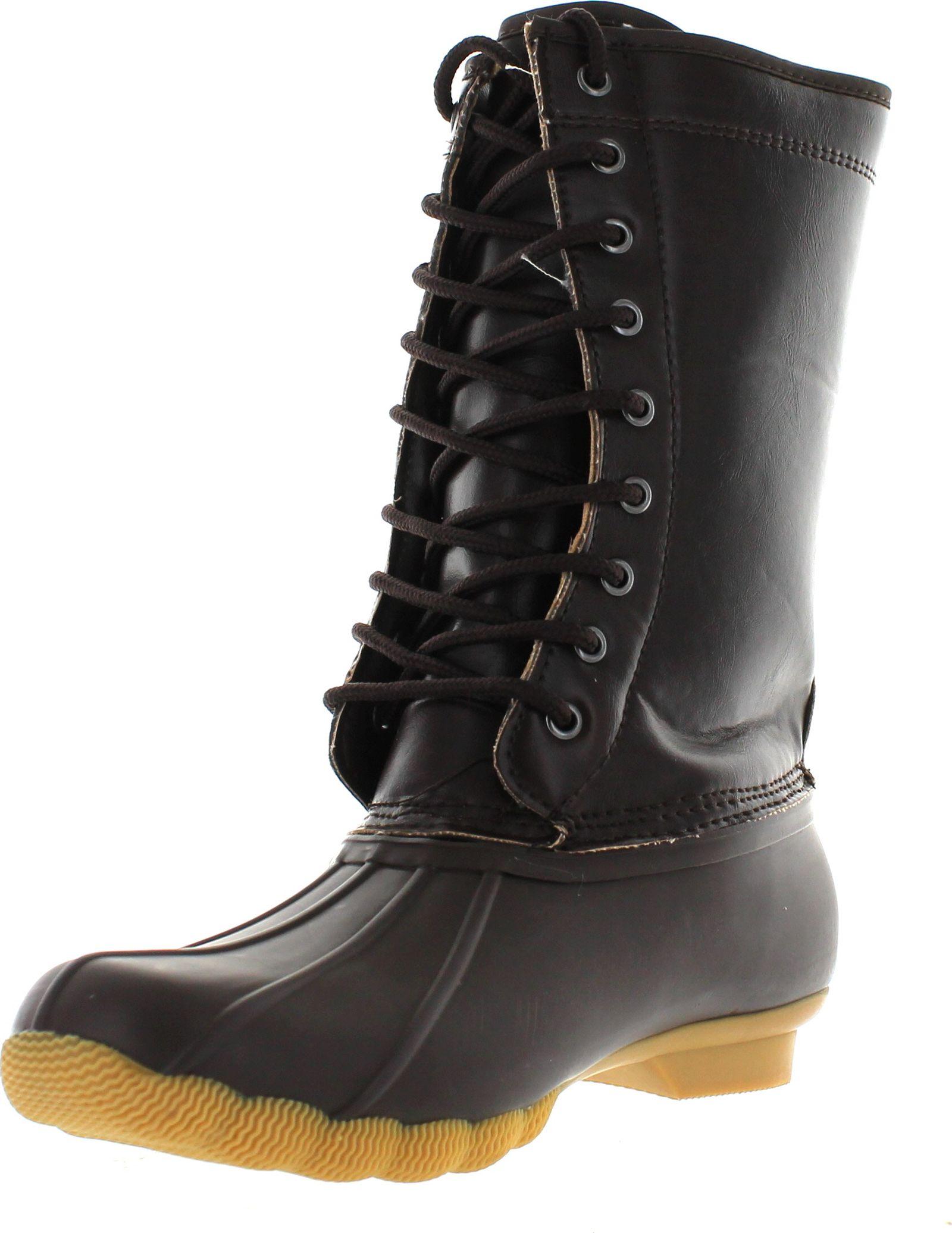 Model Womens Hunter Original Adjustable Back Short Snow Waterproof Rain Boots US 5-11 | EBay