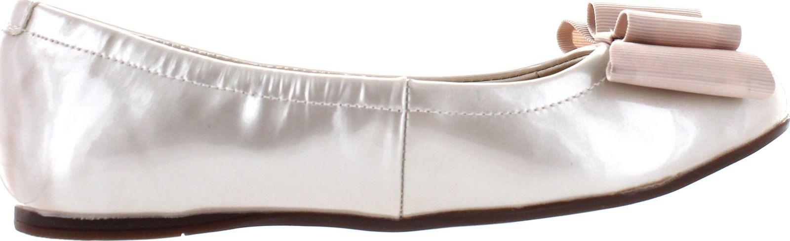 Venettini Girls 55-Jenifer Leather Dress Flats With Bow