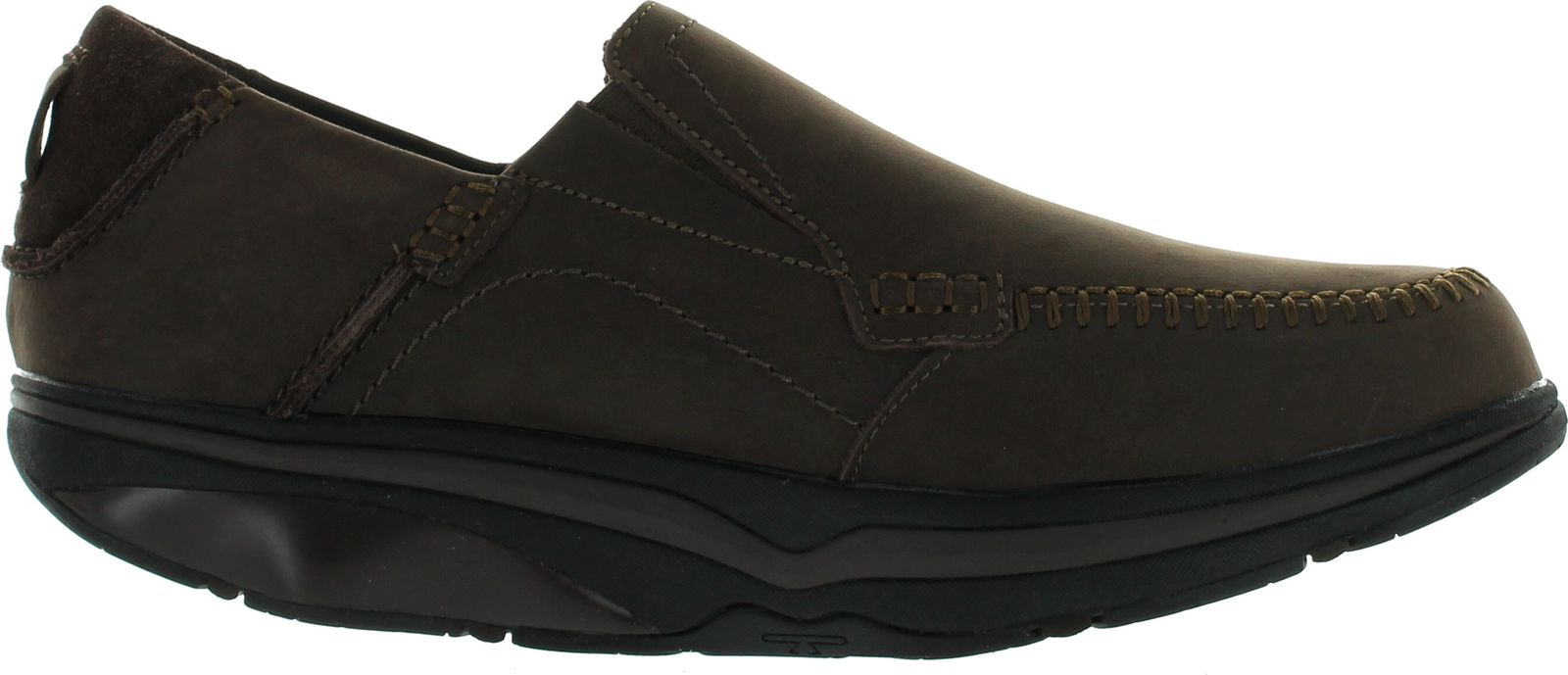 mbt mens baraka slip on walking shoes ebay