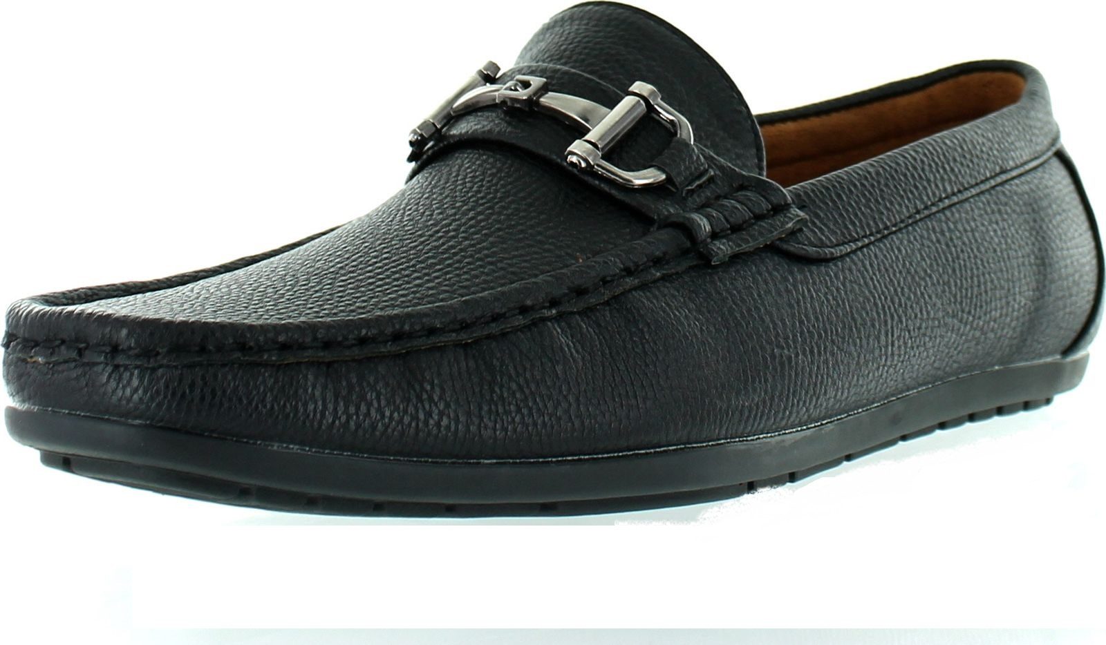 mens f41069 european style chain casual loafers