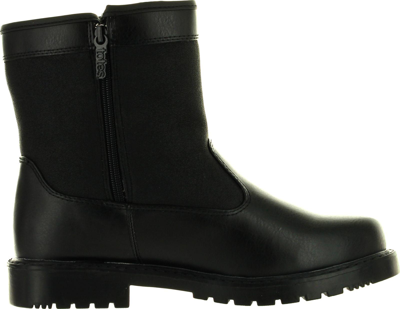 totes mens stadium winter waterproof snow boots ebay