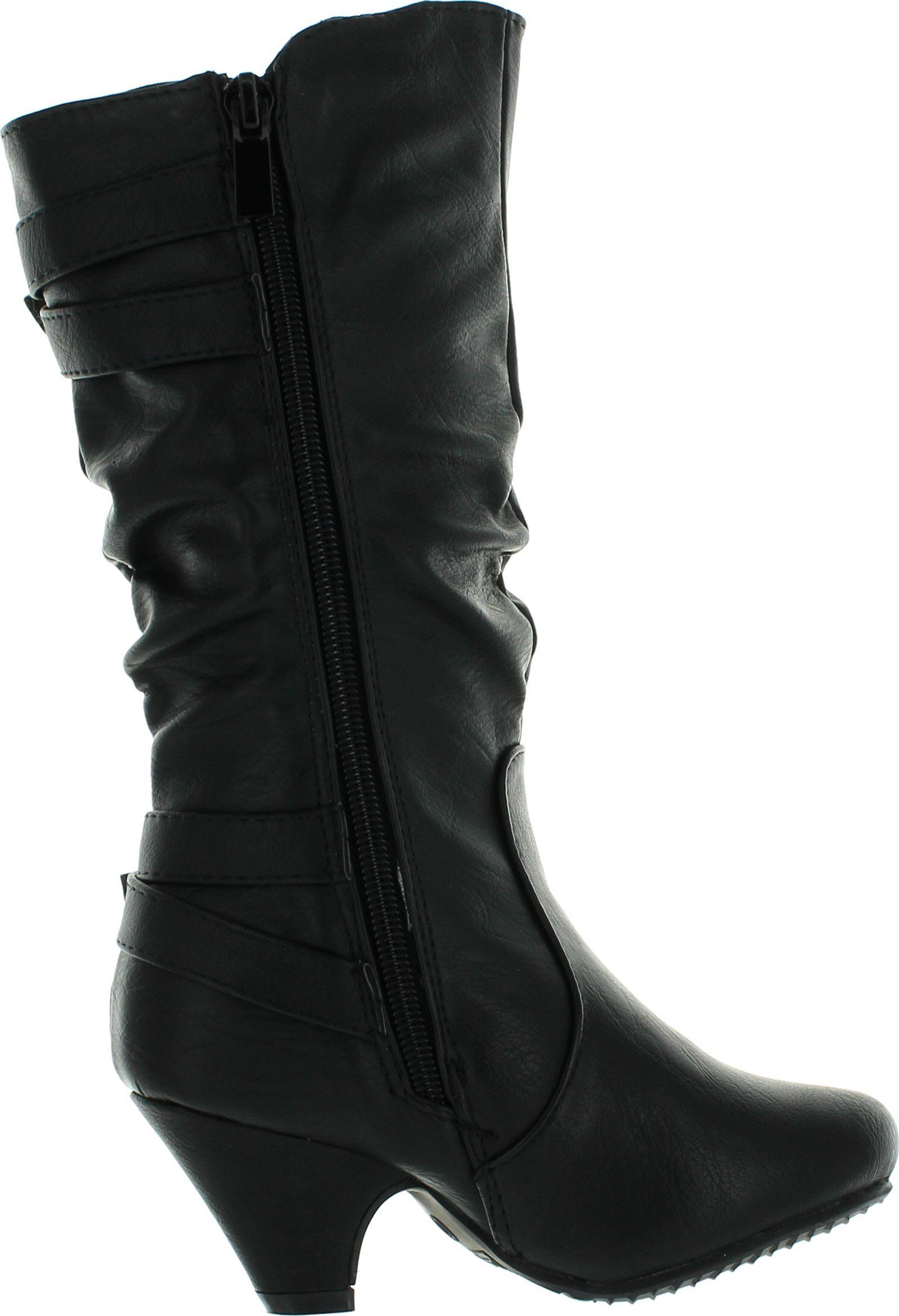 Top Moda Kids Girls Bag-55K Heel Dress Boots | eBay