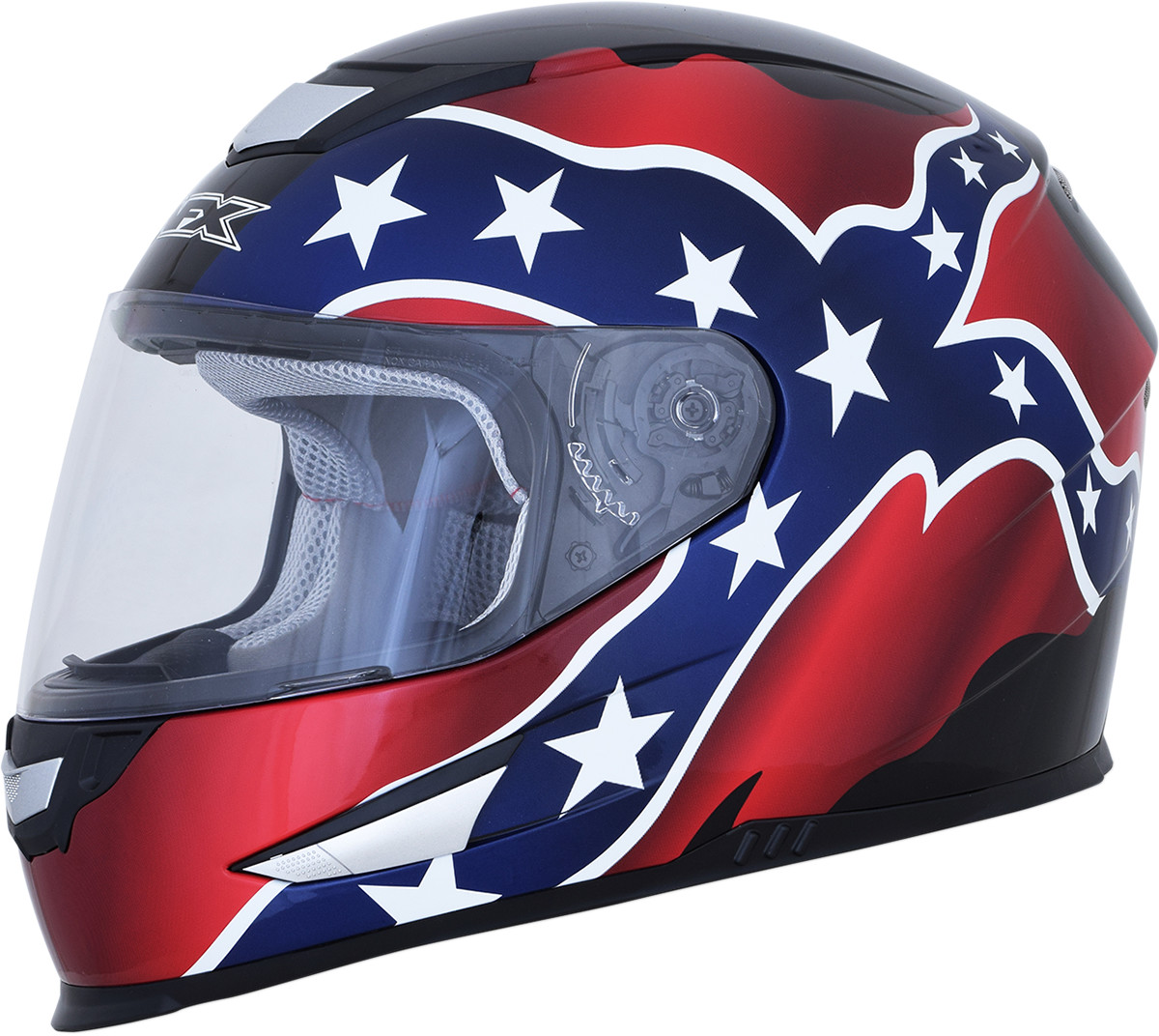 AFX FX-99 Flag Full Face Motorcycle Street Helmet Adult All Sizes and Colors