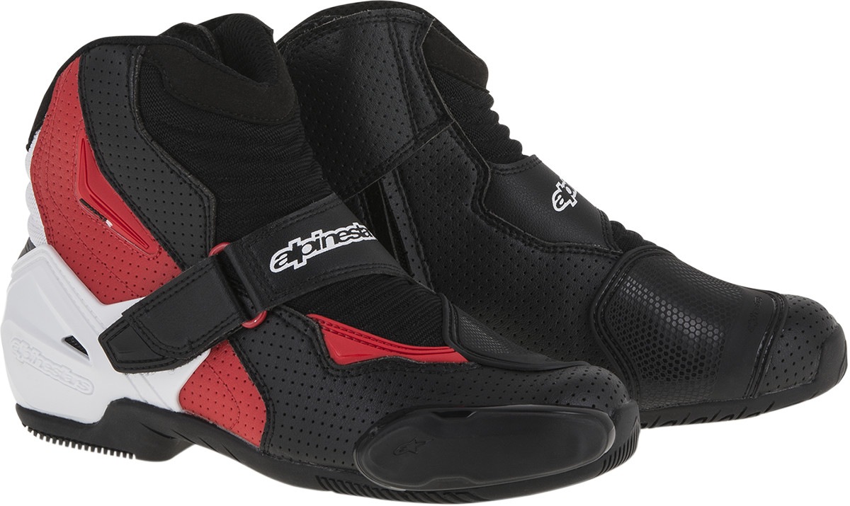 alpinestars smx 1r vented street riding motorcycle boots. Black Bedroom Furniture Sets. Home Design Ideas