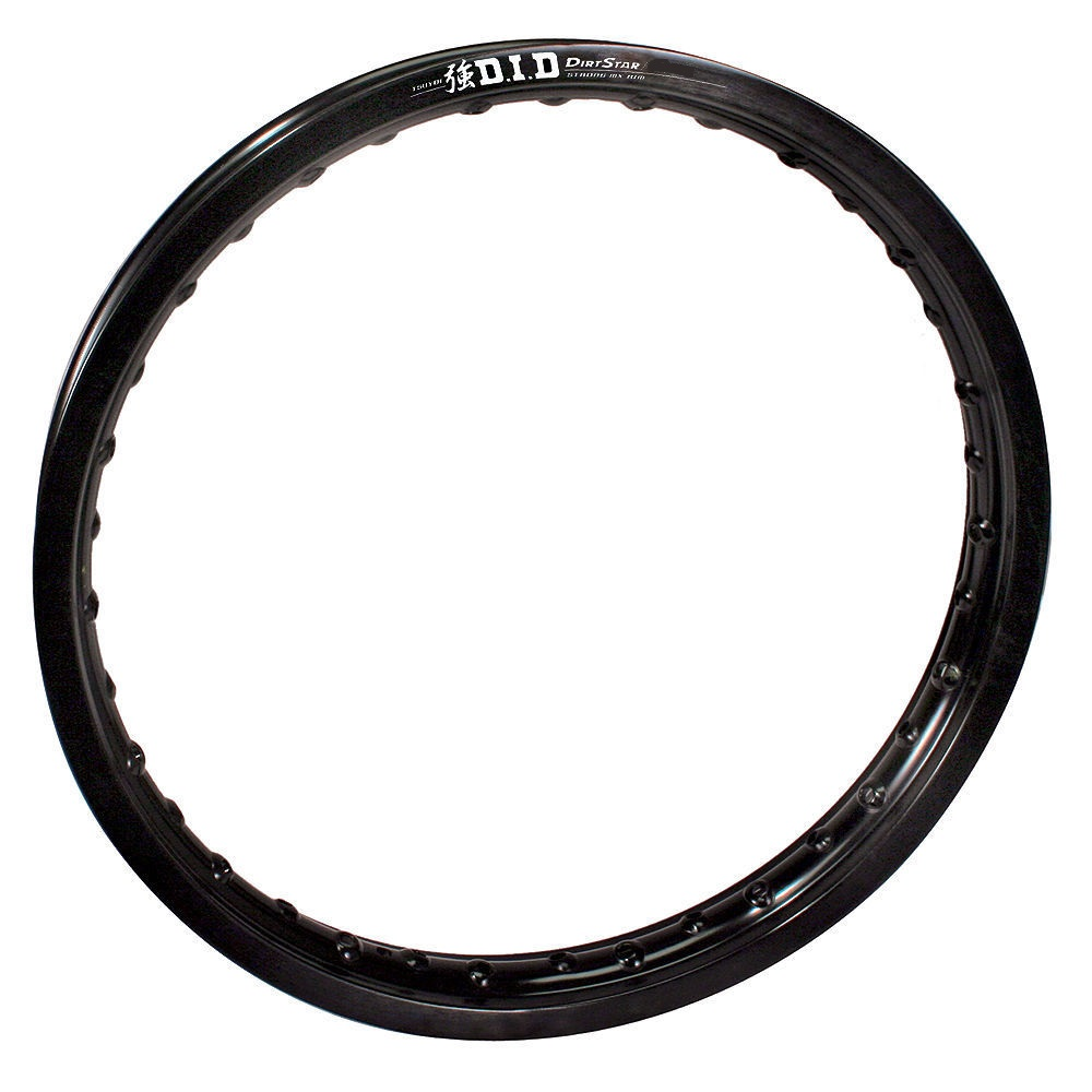 19X215STB01K Dirt Star Black 2.15x19 ST-X Rear Rim D.I.D
