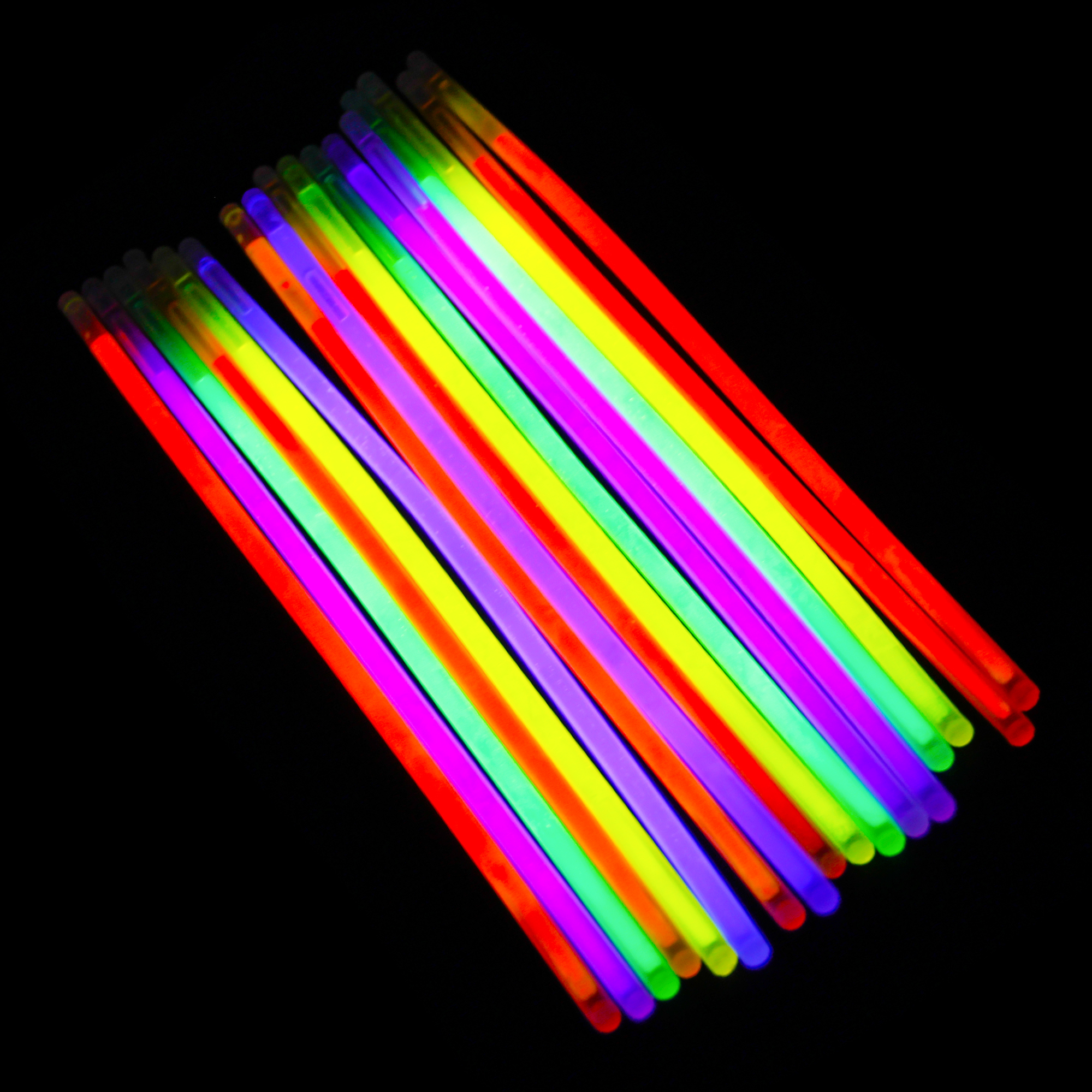 glow stick light up bracelet necklace 8in 9 colors premium. Black Bedroom Furniture Sets. Home Design Ideas