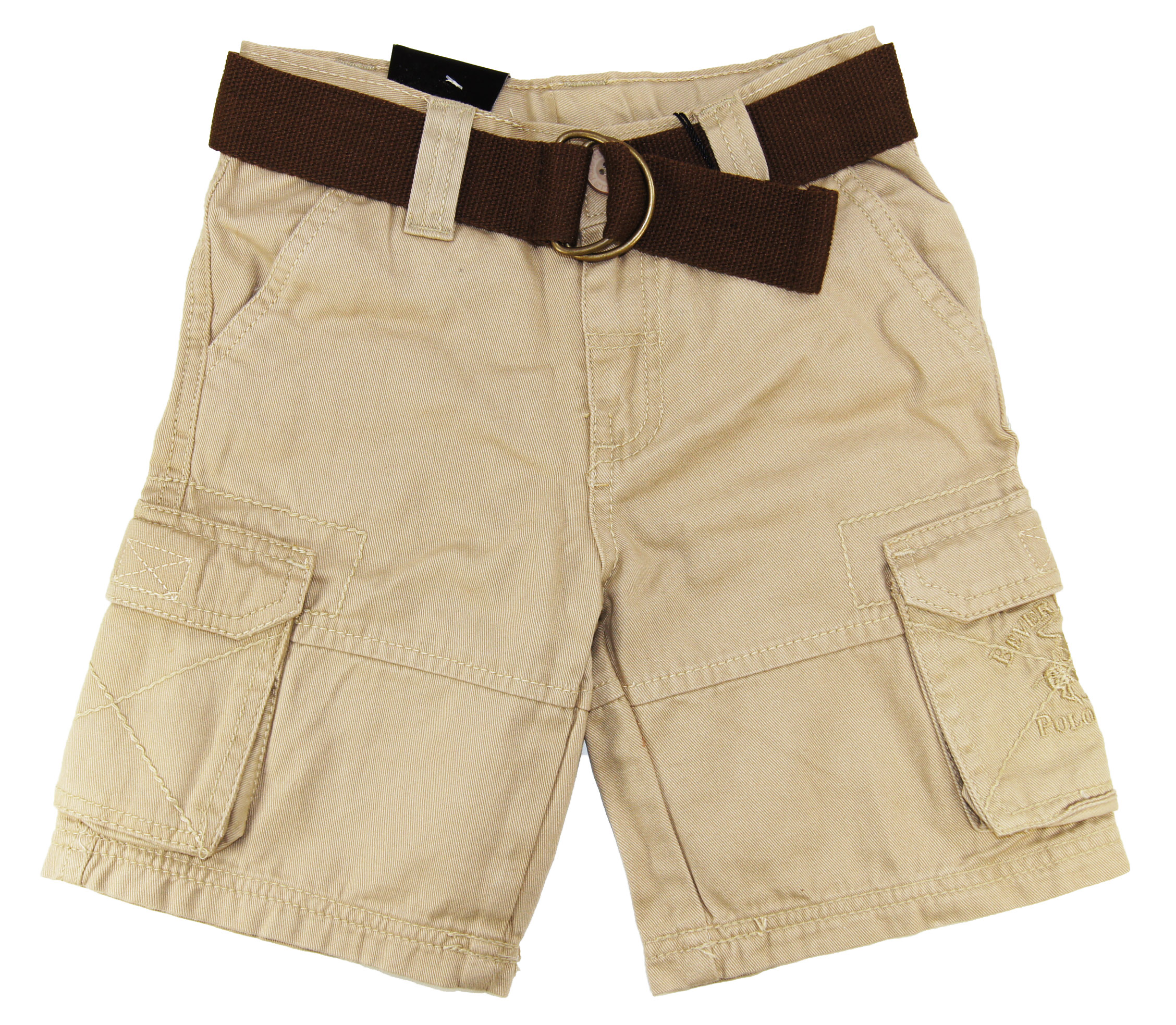 Beverly Hills Polo Club Plaid Toddler Boys Beige Peached Twill Cargo Shorts 3T4T at Sears.com
