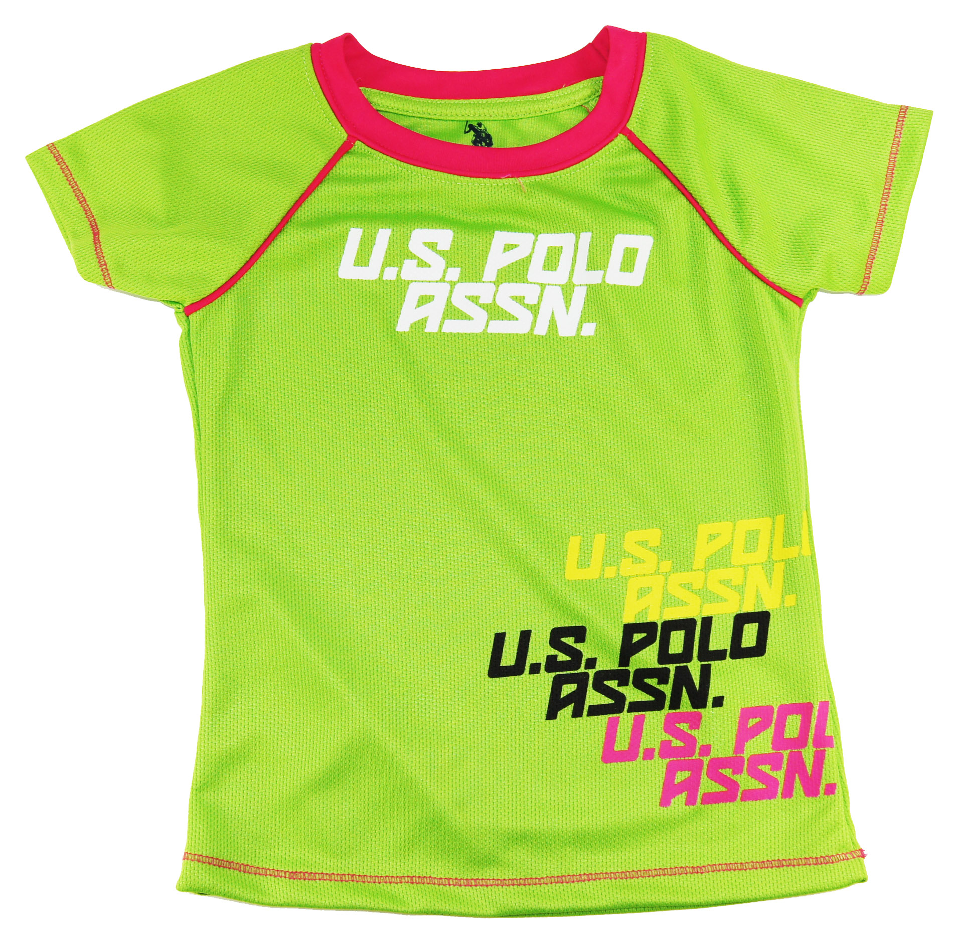 U.S. Polo Assn. Toddler Girls Green Sport Sweat Top/Tee 6 Y at Sears.com