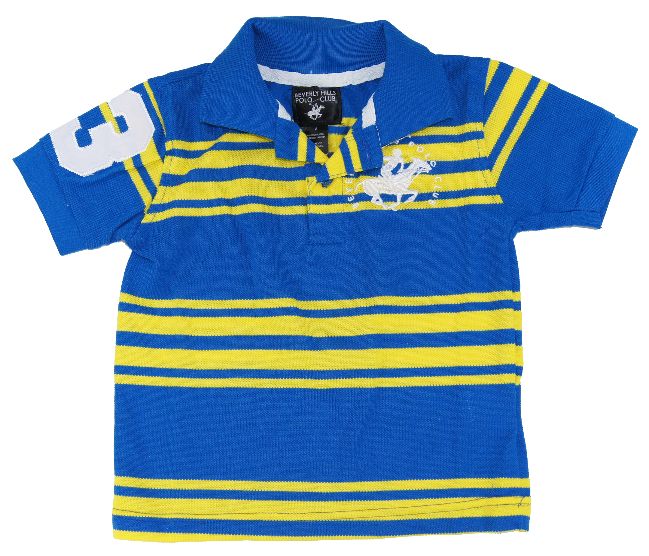Beverly Hills Polo Club Little Boys' Striped Polo Shirt at Sears.com