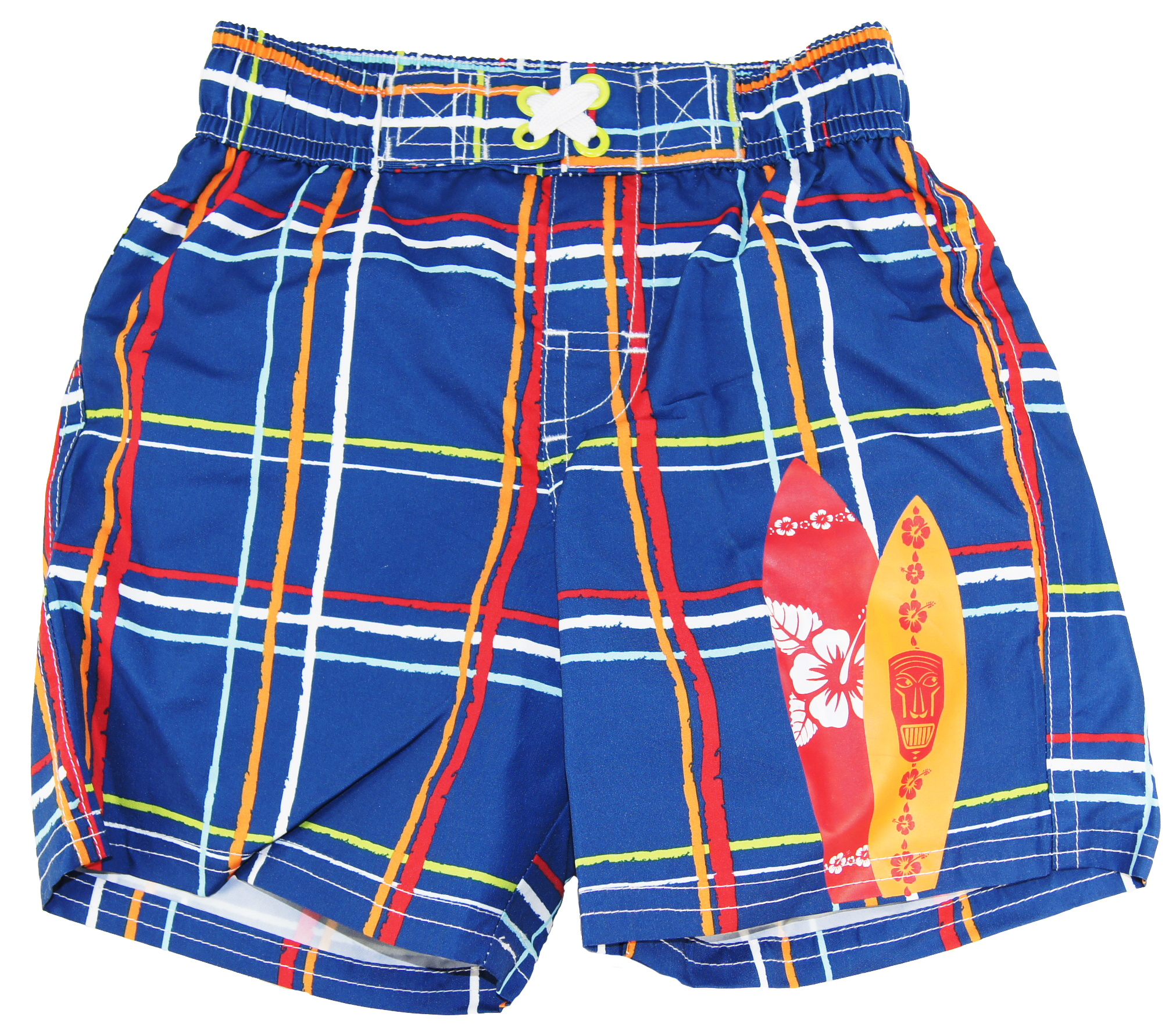 Ixtreme Baby-Boys Infant Navy Blue Plaid Short/Trunks w Boards UV Protected at Sears.com