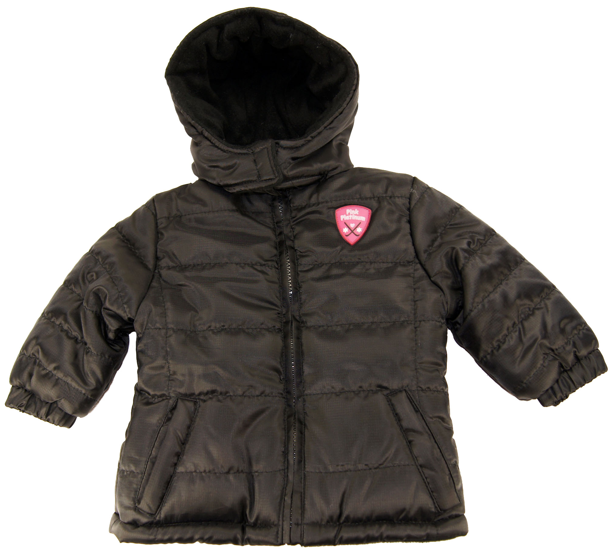Pink Platinum Baby-Girls Infant Ripstop Puffer Winter Jacket Coat at Sears.com