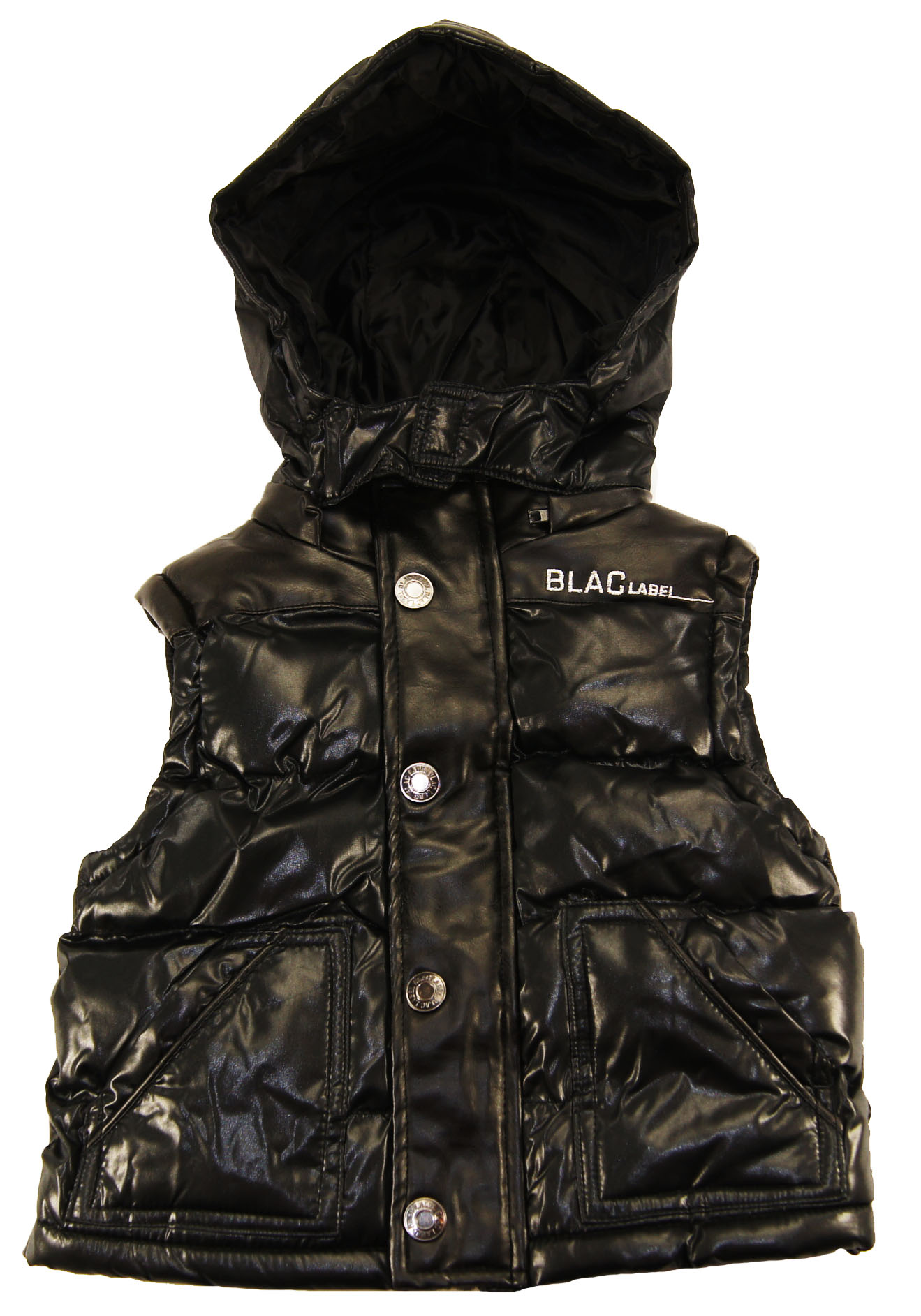 Blac Label Little Boys' Hooded Bubble Vest at Sears.com
