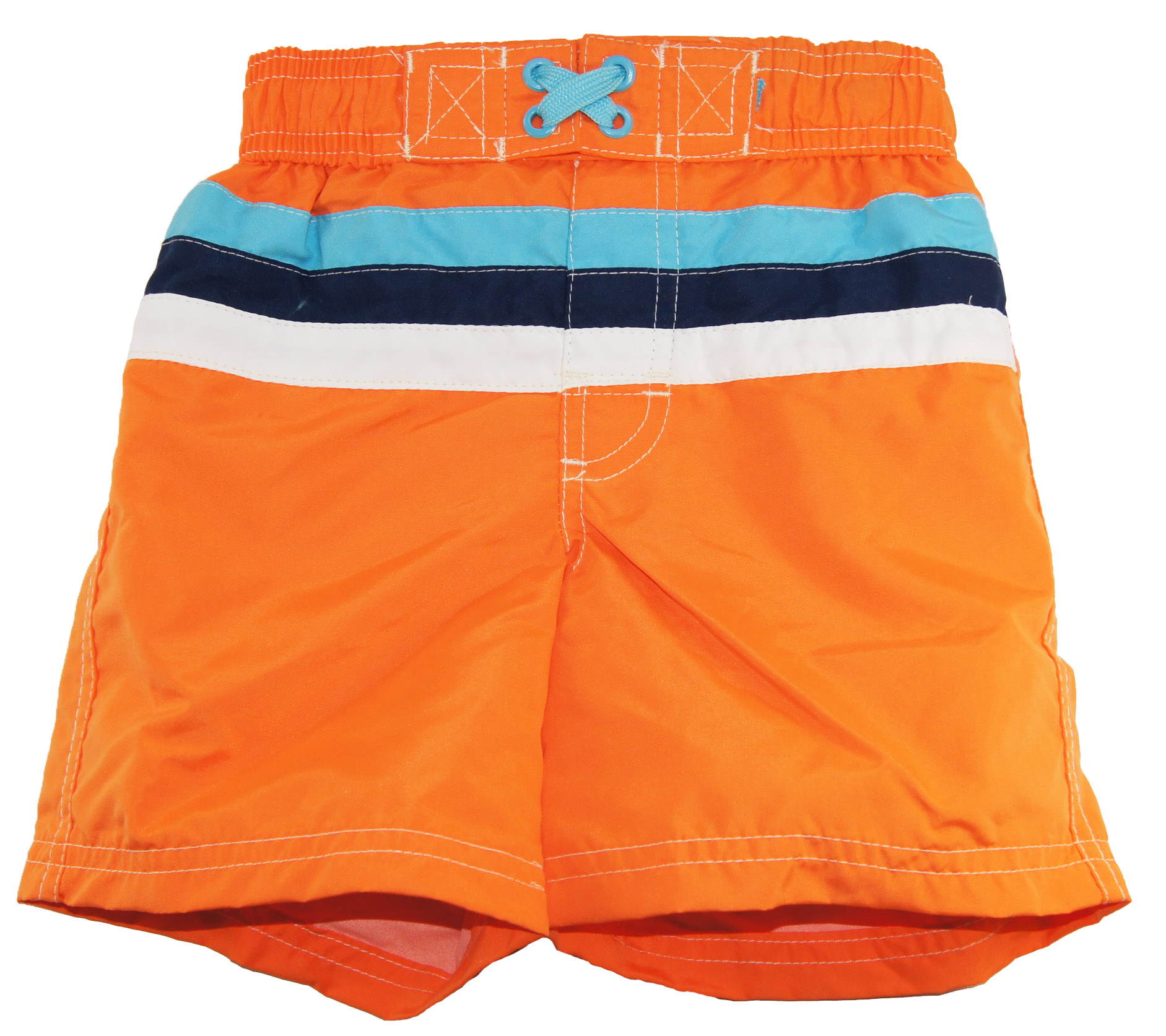 iXtreme Little Boys' Swimwear Stripe Swim Trunk