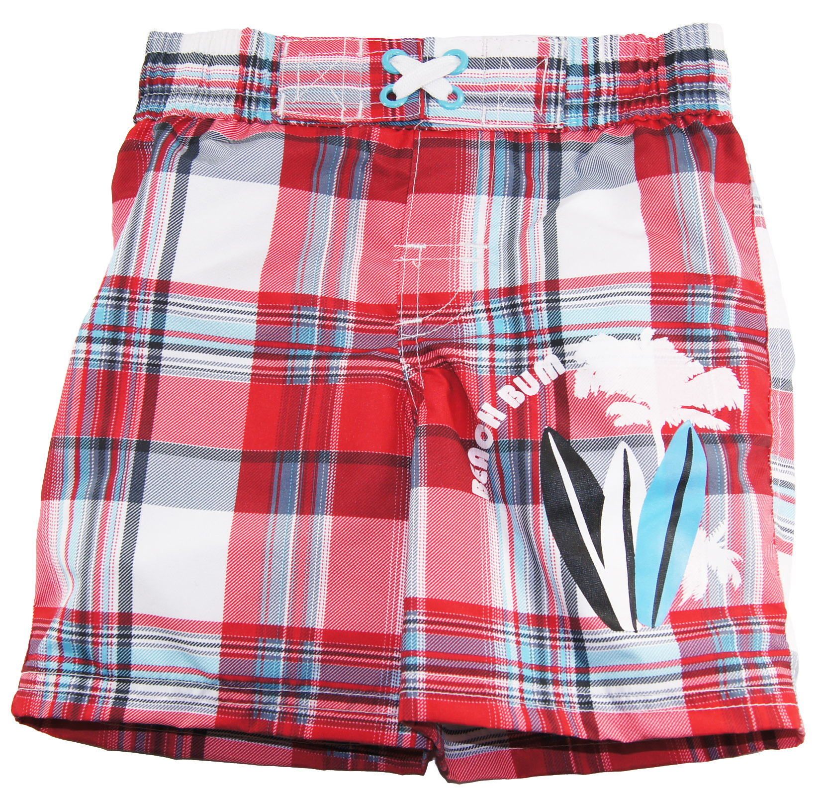 iXtreme Baby Boys Swimwear Plaid Swim Trunk