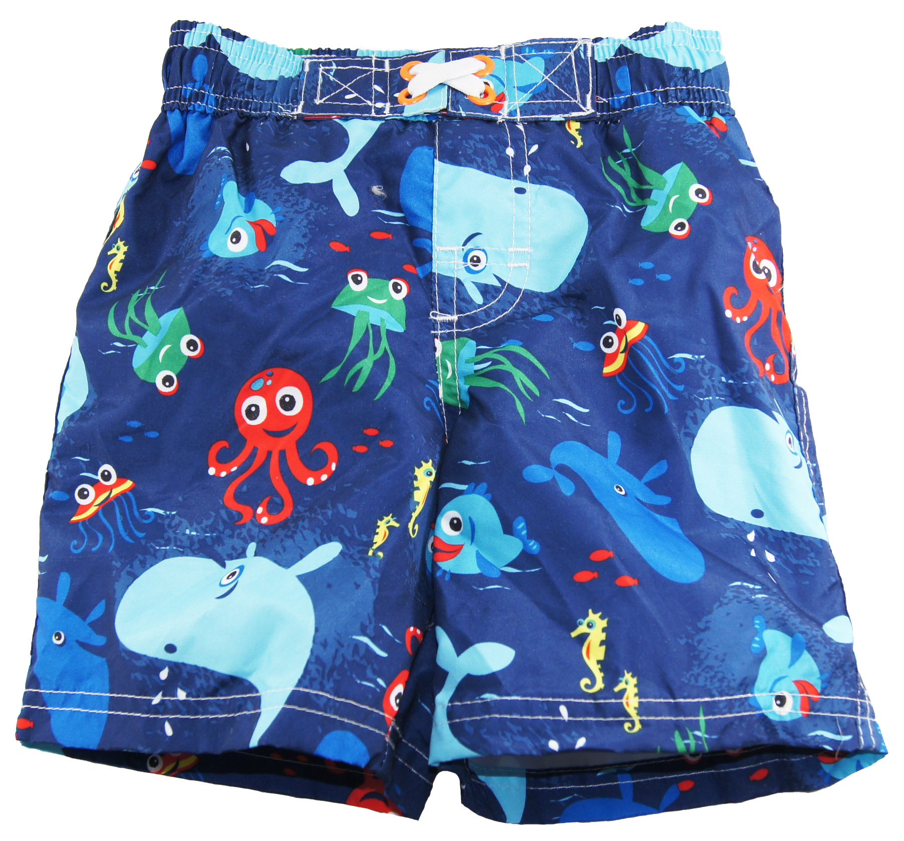 iXtreme Baby Boys Deep Sea Diving Octupus Rashguard Swim Trunk