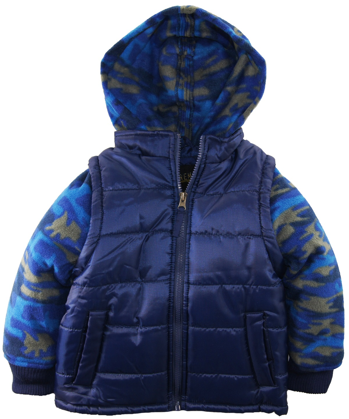 iXtreme Little Boys 4-7 Camo Puffer Hooded Jacket at Sears.com