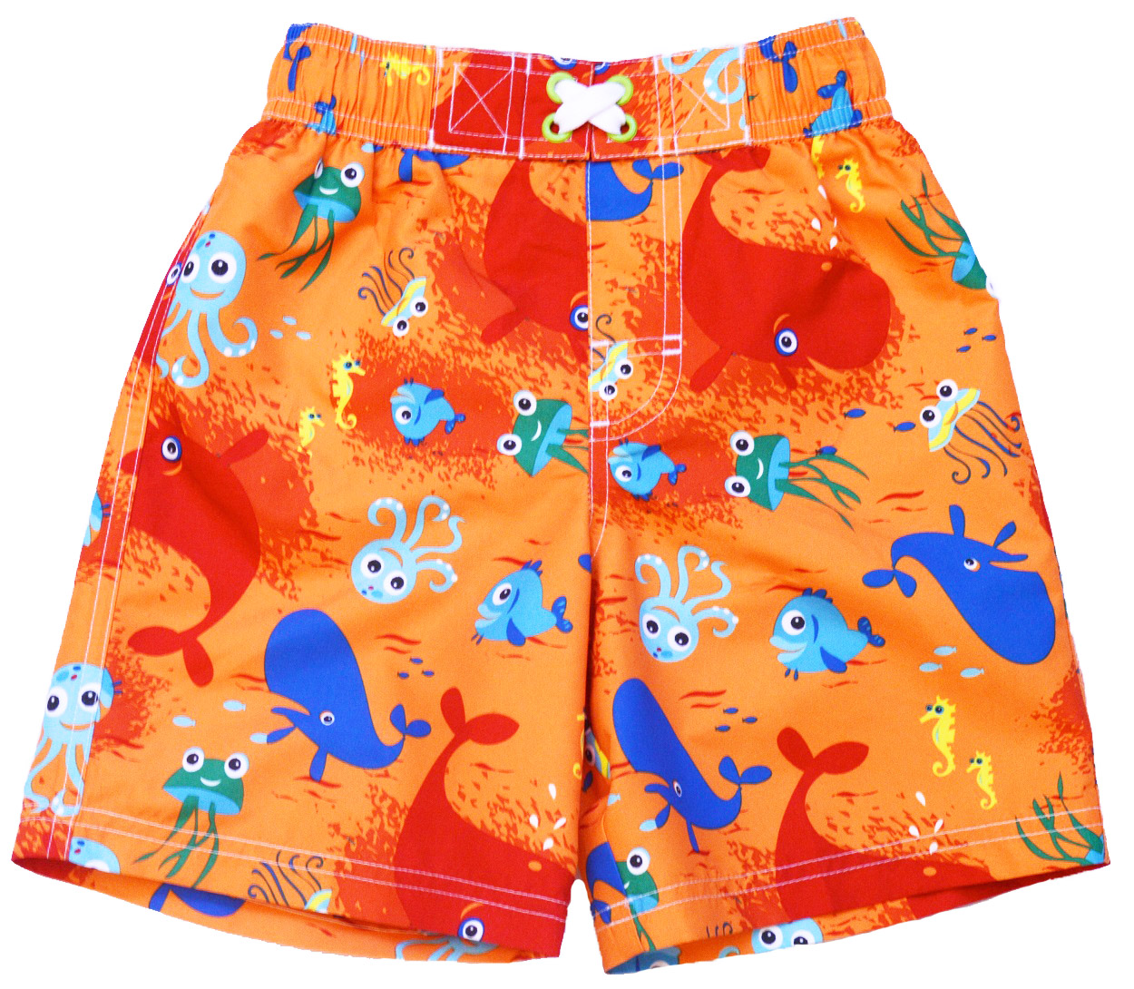 iXtreme Little Boys' Octupus Sea Diving Swim Trunk