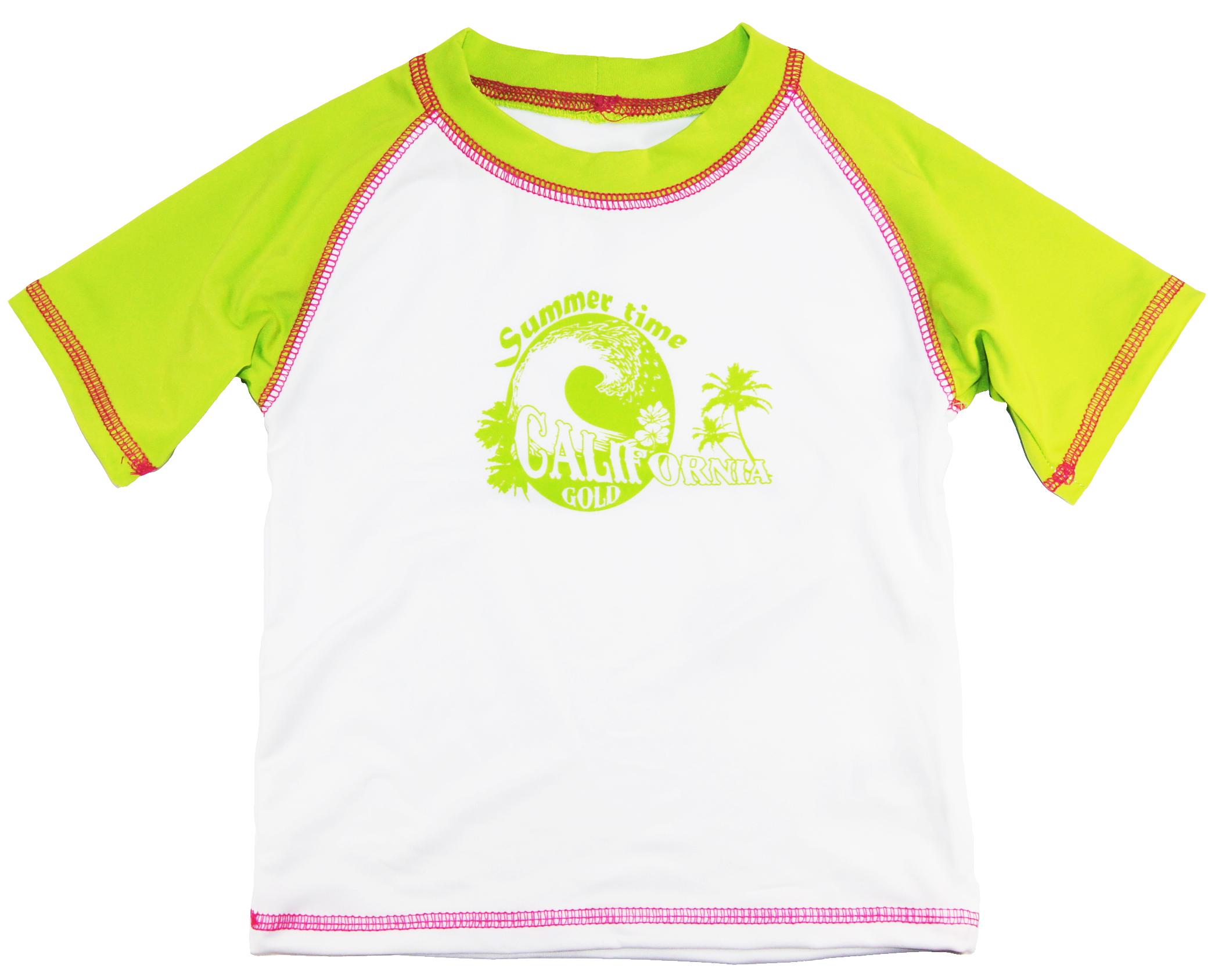 Pink Platinum Little Girls' Rash Guard Swim Tee Shirt at Sears.com