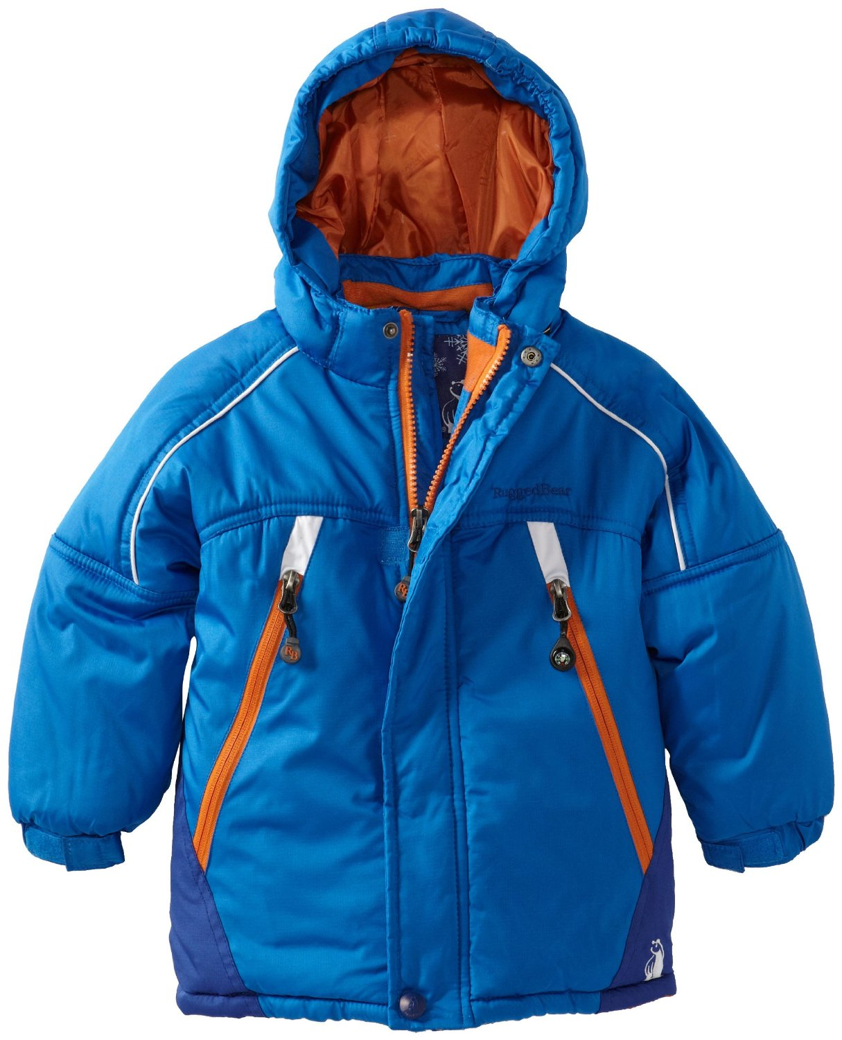 Rugged Bear Toddler Boys Solid Blue Snow Ski Winter Jacket/Coat 2T 3T 4T at Sears.com